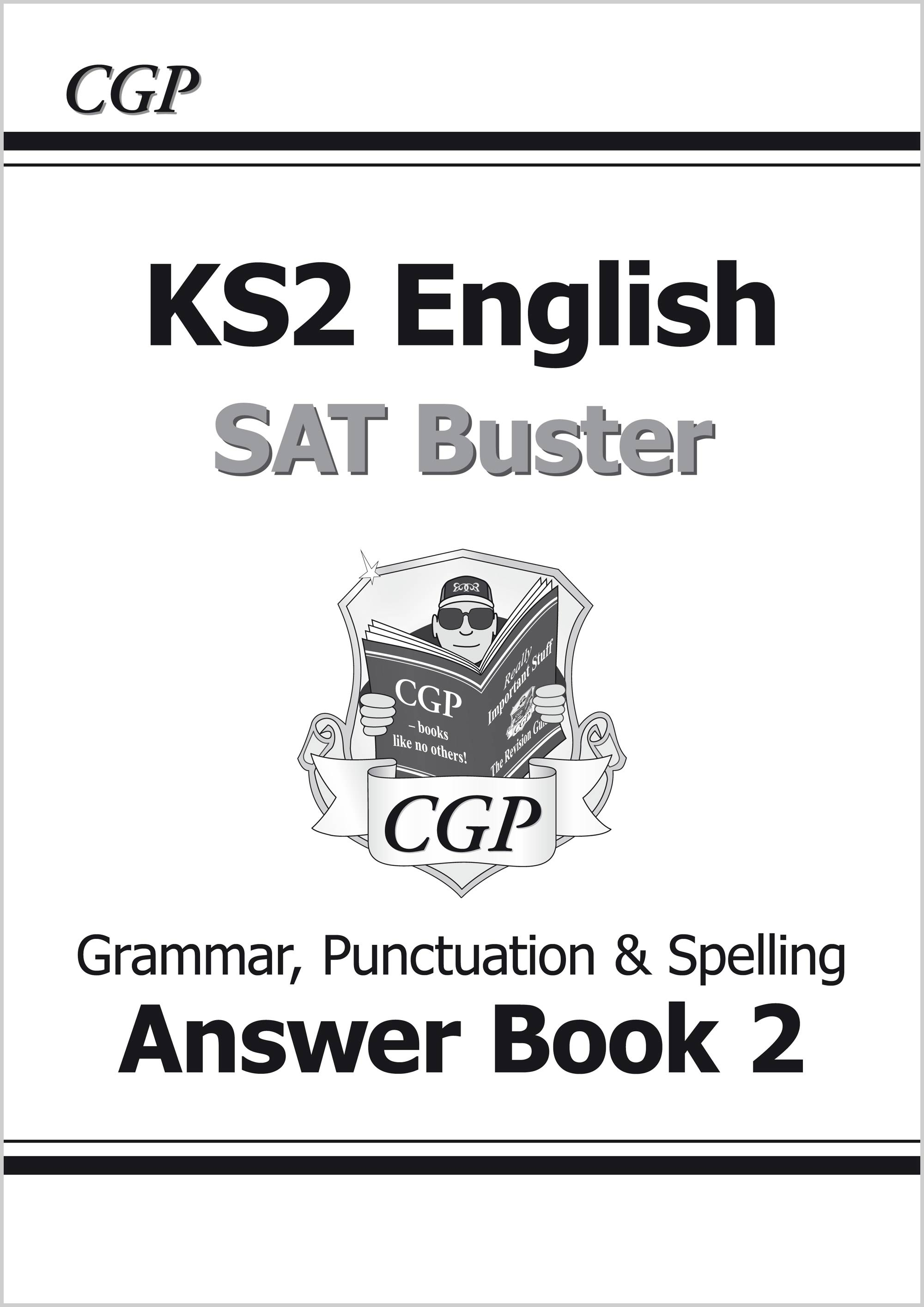 E6GA222 - KS2 English SAT Buster Book 2 Answers - Grammar, Punctuation & Spelling (for the 2019 test