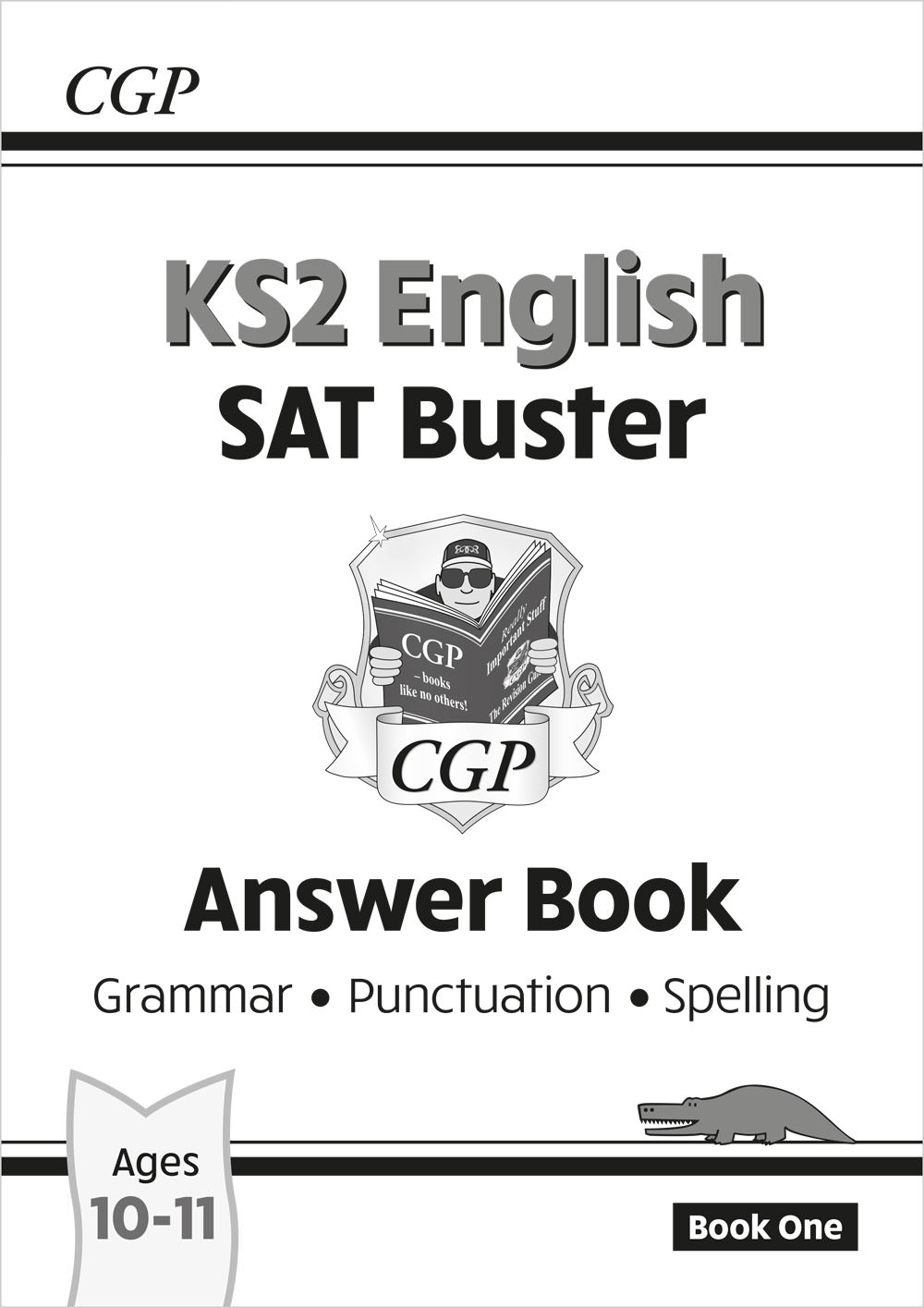 E6GA23 - New KS2 English SAT Buster: Grammar, Punctuation & Spelling - Answer Book 1 (for the 2021 t