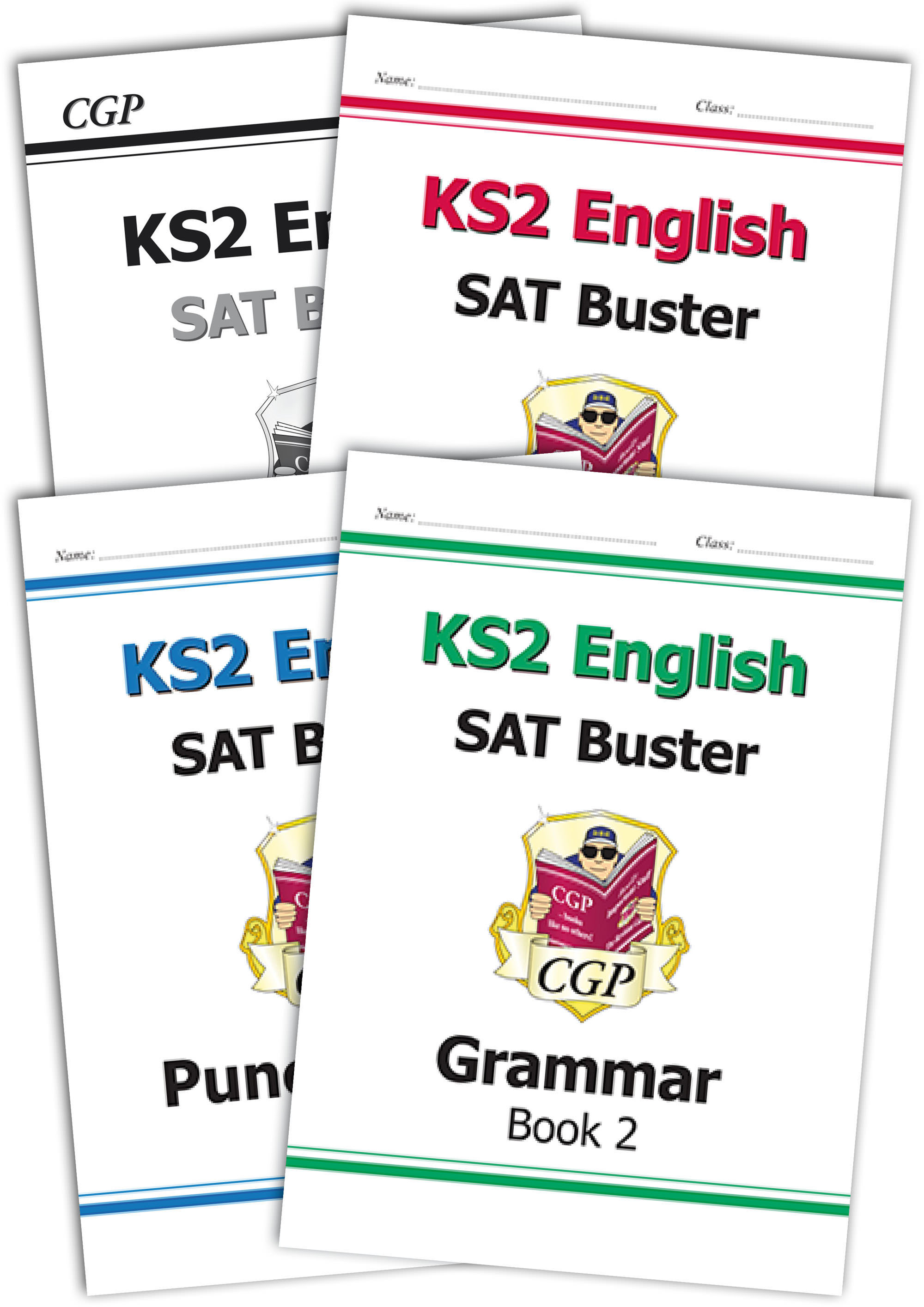 E6GB222 - The Complete KS2 English SPaG SAT Buster Book 2 Bundle - incl answers (for the 2019 tests)