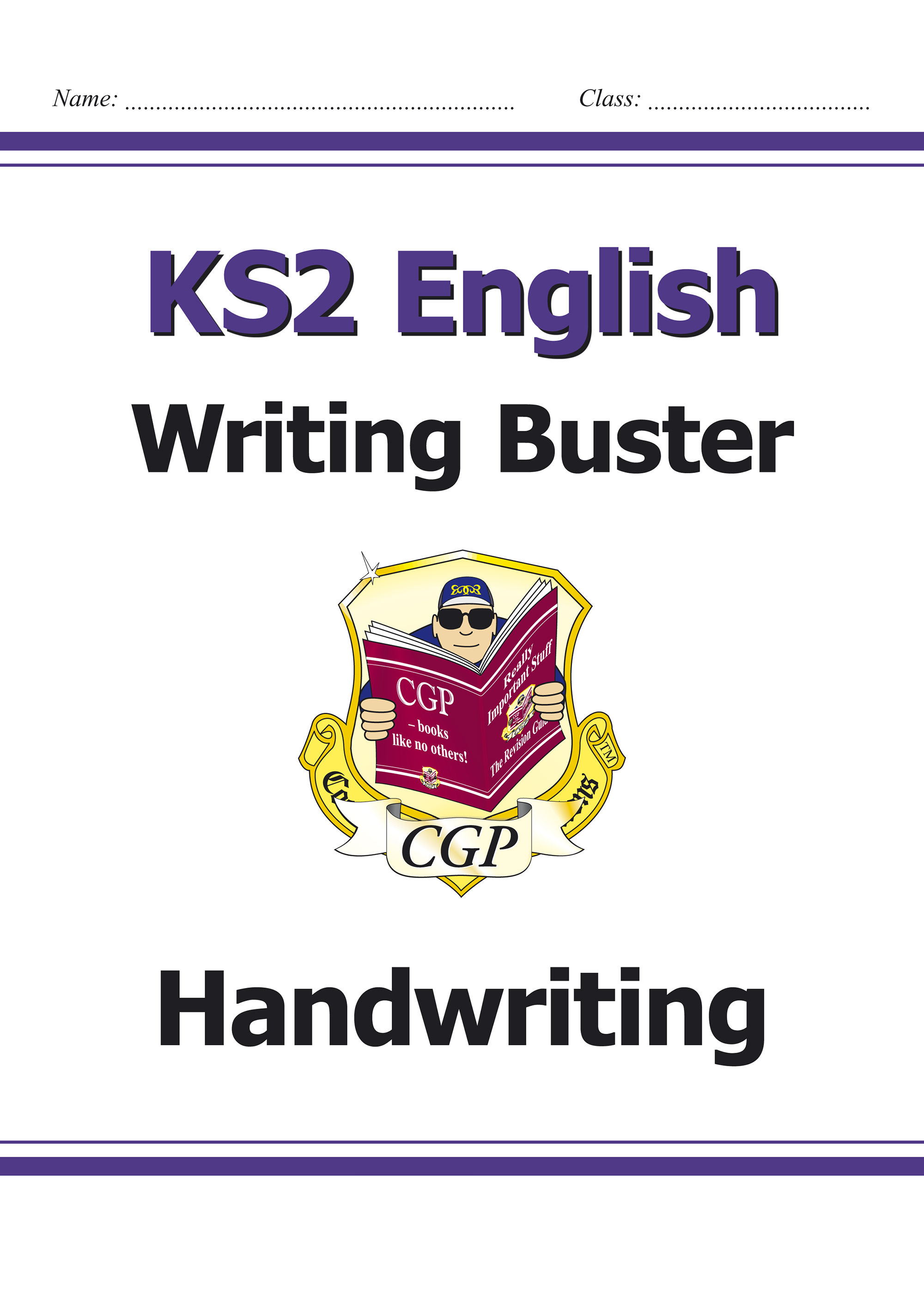 E6H23 - KS2 English Writing Buster - Handwriting