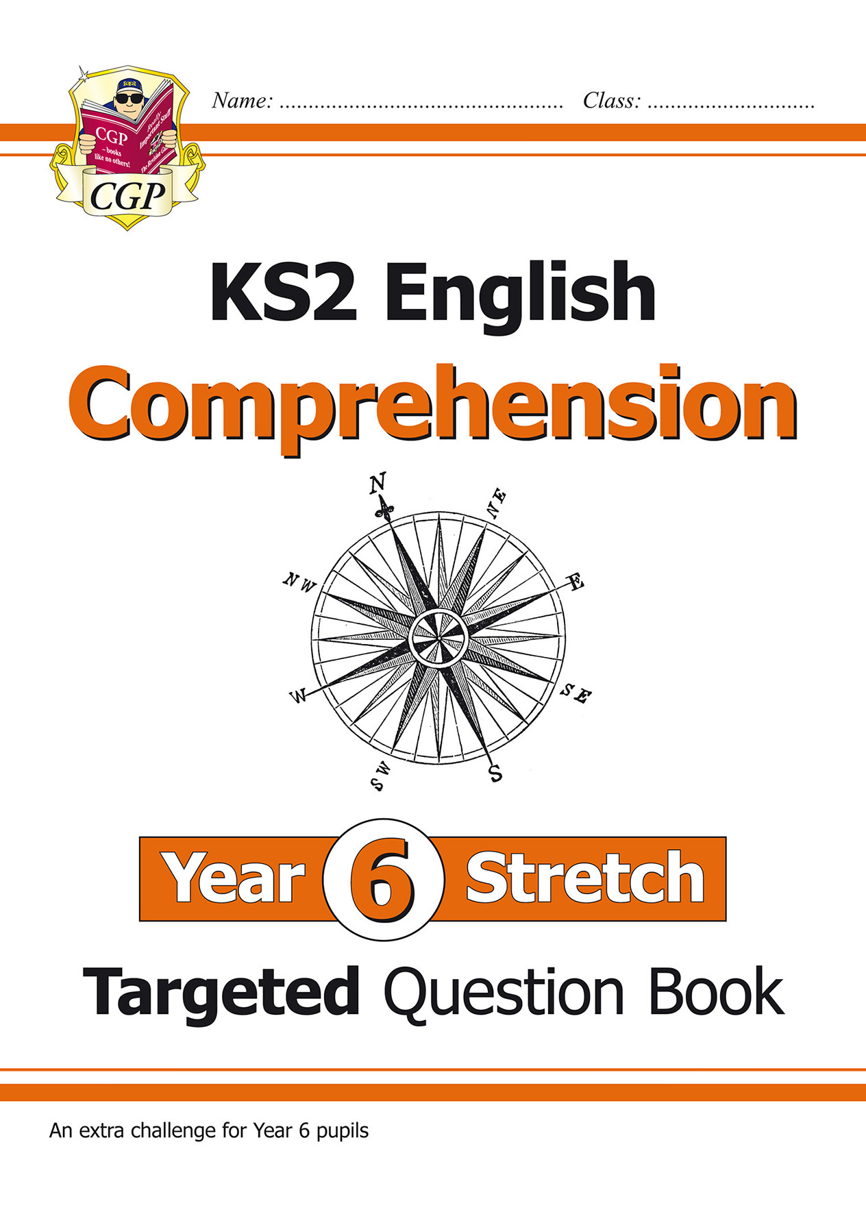 E6HCW21 - KS2 English Targeted Question Book: Challenging Comprehension - Year 6 Stretch (with Answe