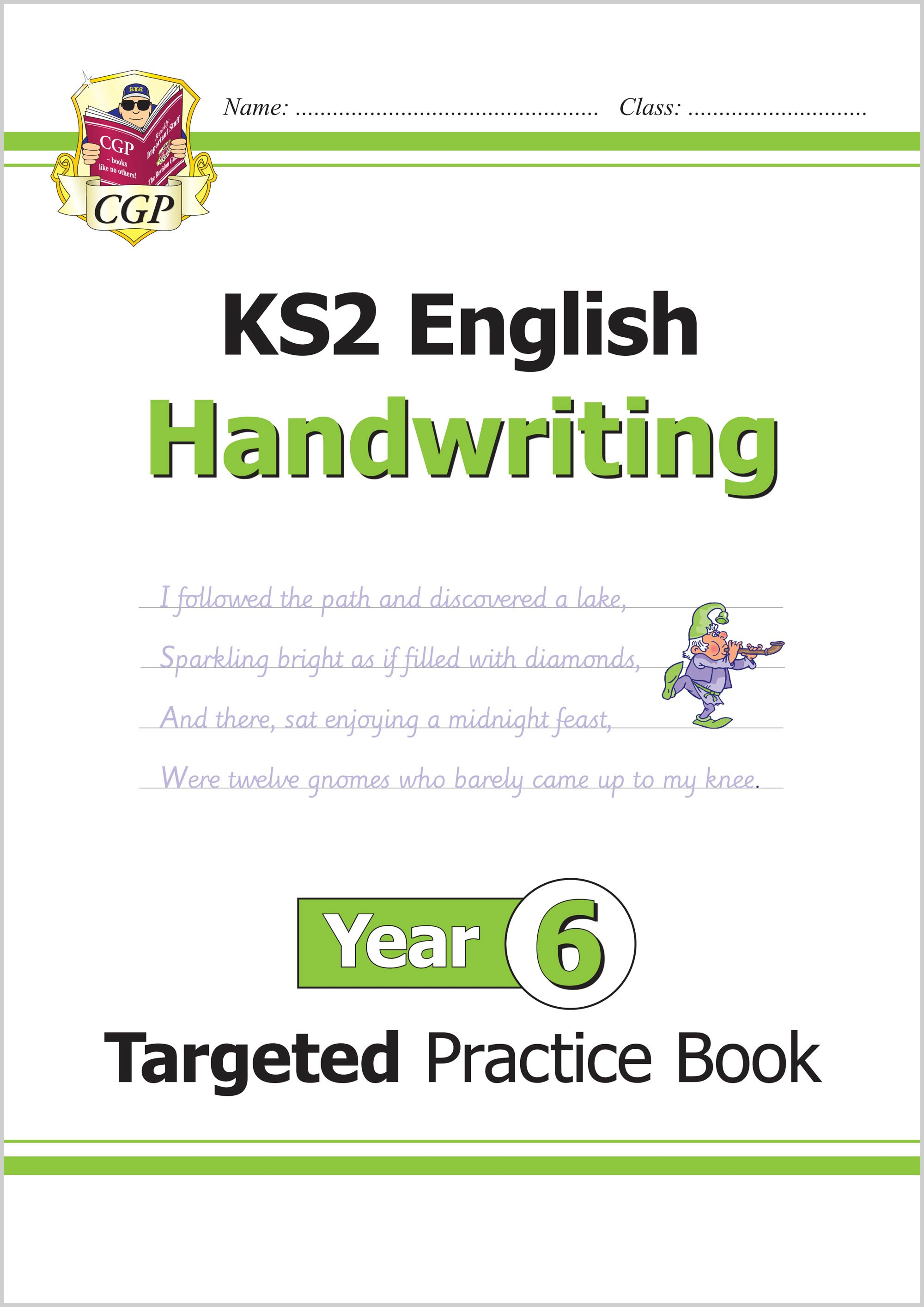 E6HHW21 - KS2 English Targeted Practice Book: Handwriting - Year 6