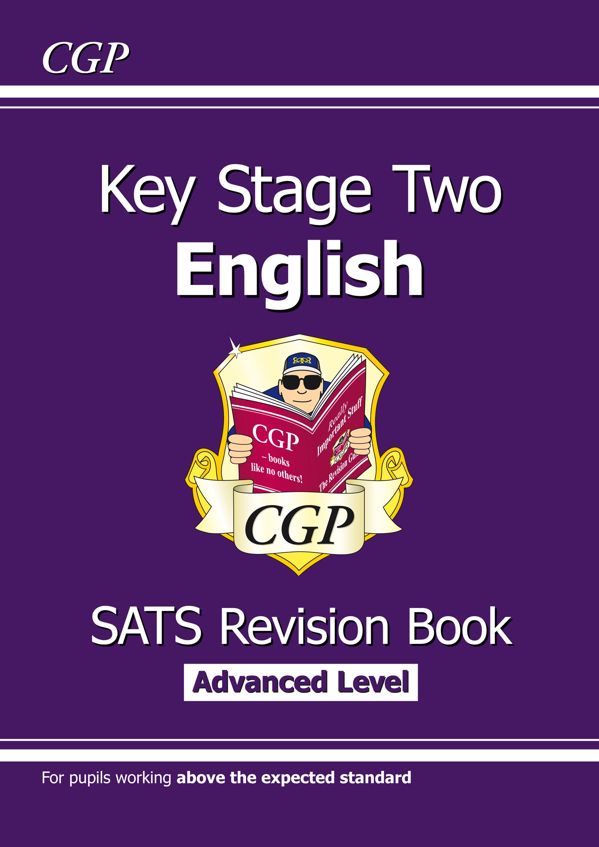 E6HR22 - KS2 English Targeted SATS Revision Book - Advanced Level (for the 2019 tests)