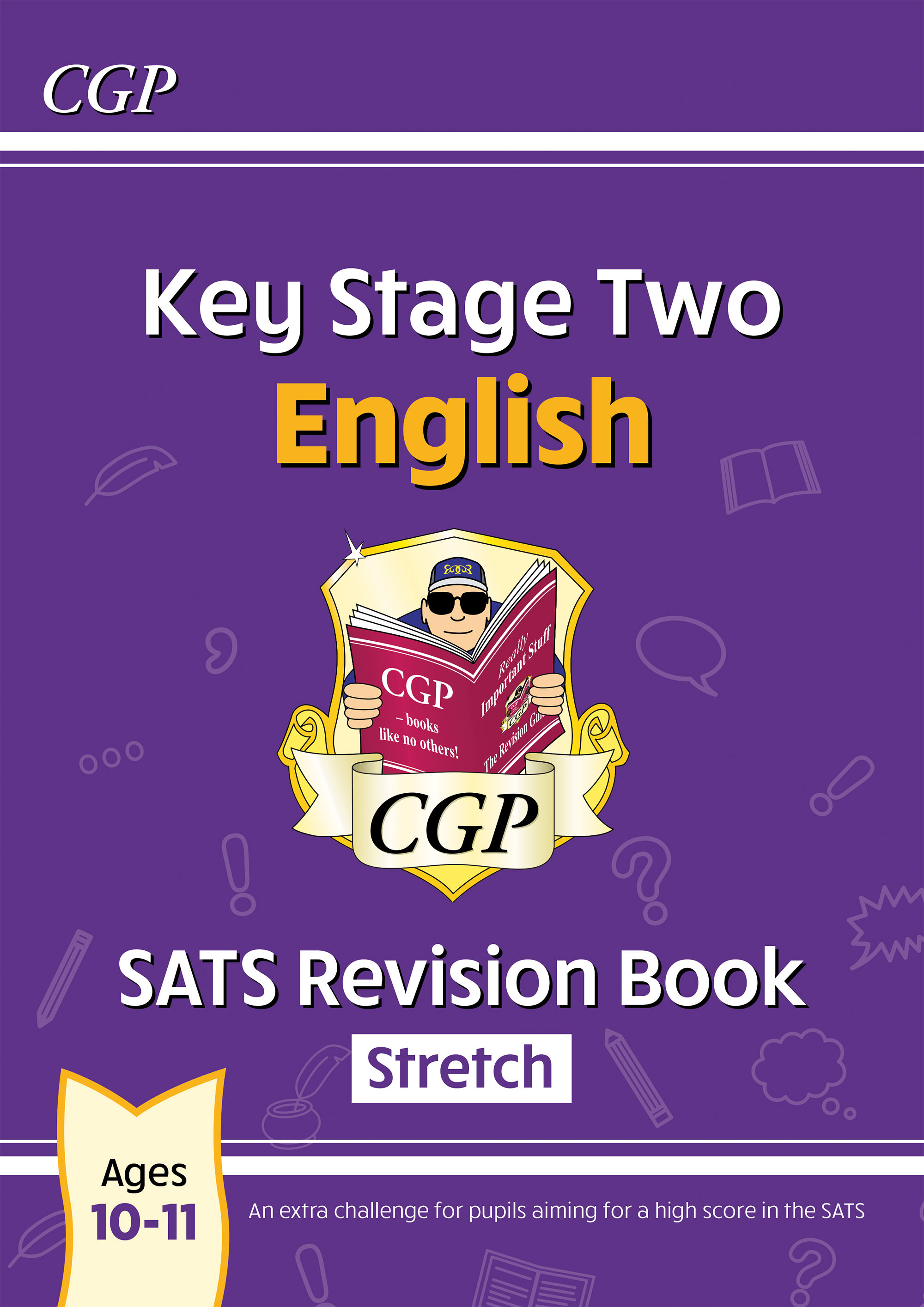 E6HR23DK - New KS2 English SATS Revision Book: Stretch - Ages 10-11 (for the 2021 tests)