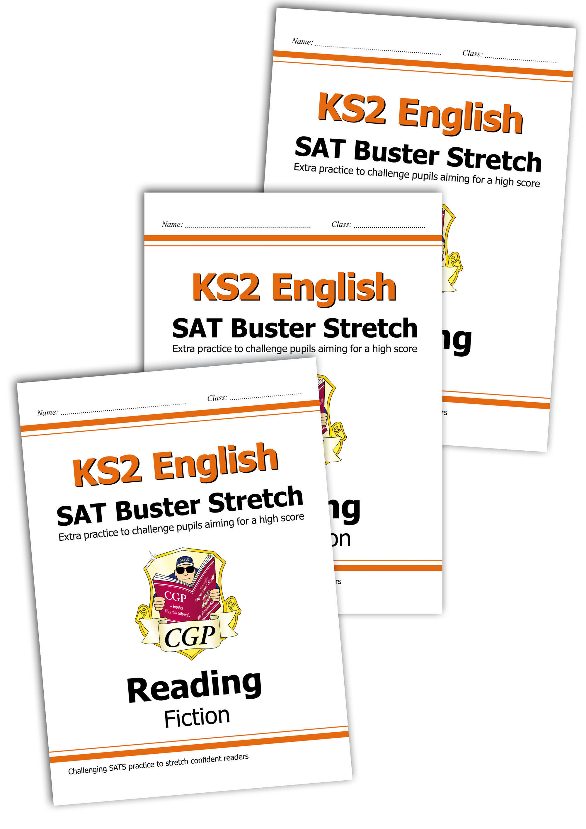 E6HRB21 - New KS2 English Reading SAT Buster Stretch Bundle - Fiction, Non-Fiction & Poetry (incl an