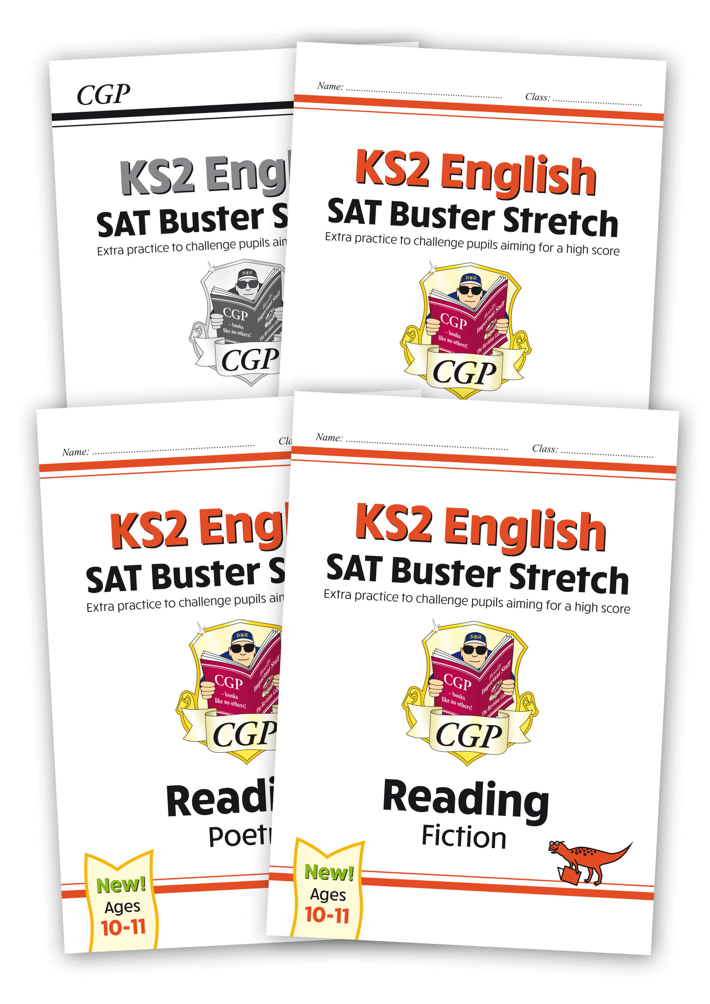 E6HRB22 - New KS2 English Reading SAT Buster Stretch Bundle - includes answers (for the 2021 tests)