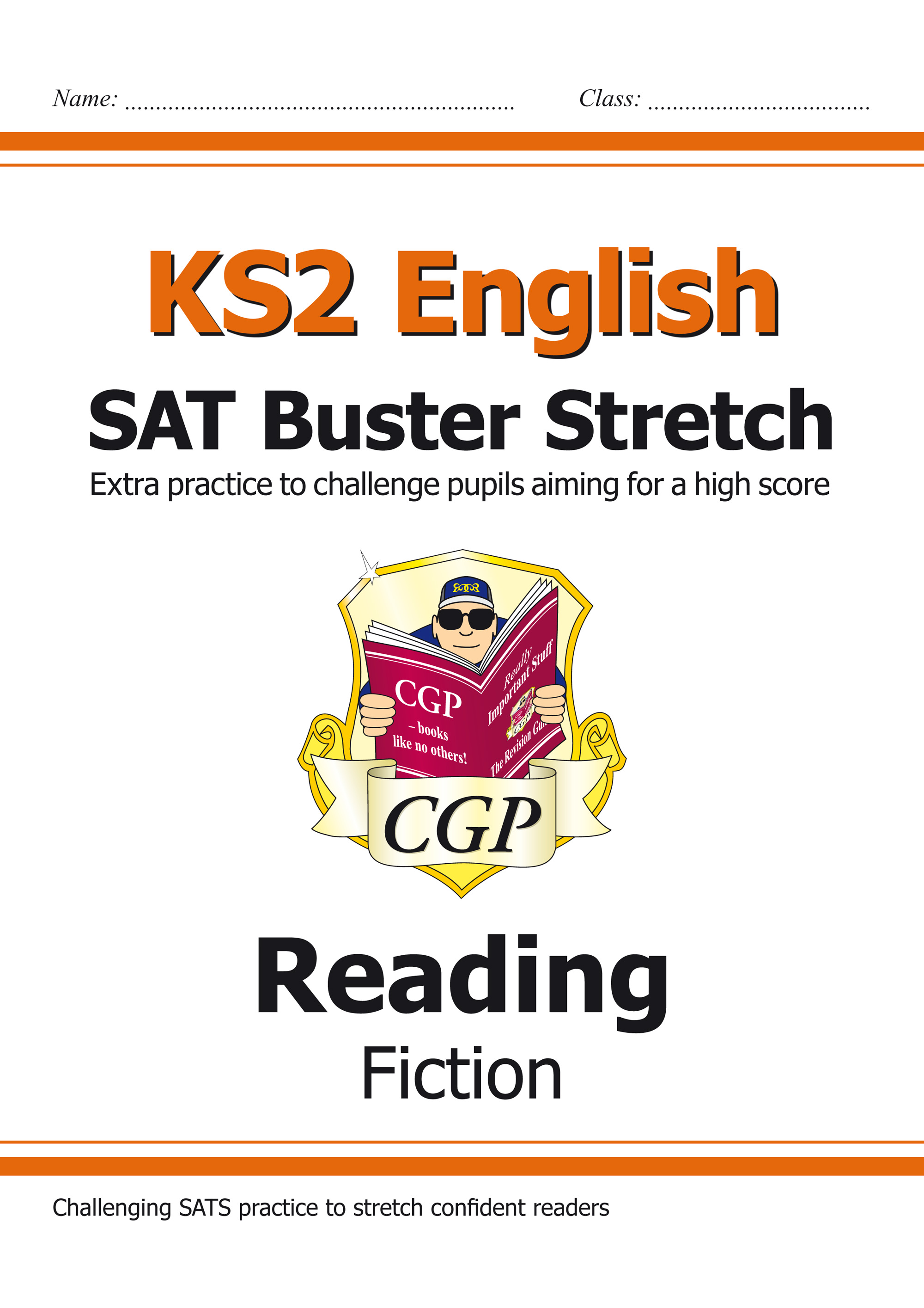 E6HRF21 - KS2 English Reading SAT Buster Stretch: Fiction (for tests in 2018 and beyond)