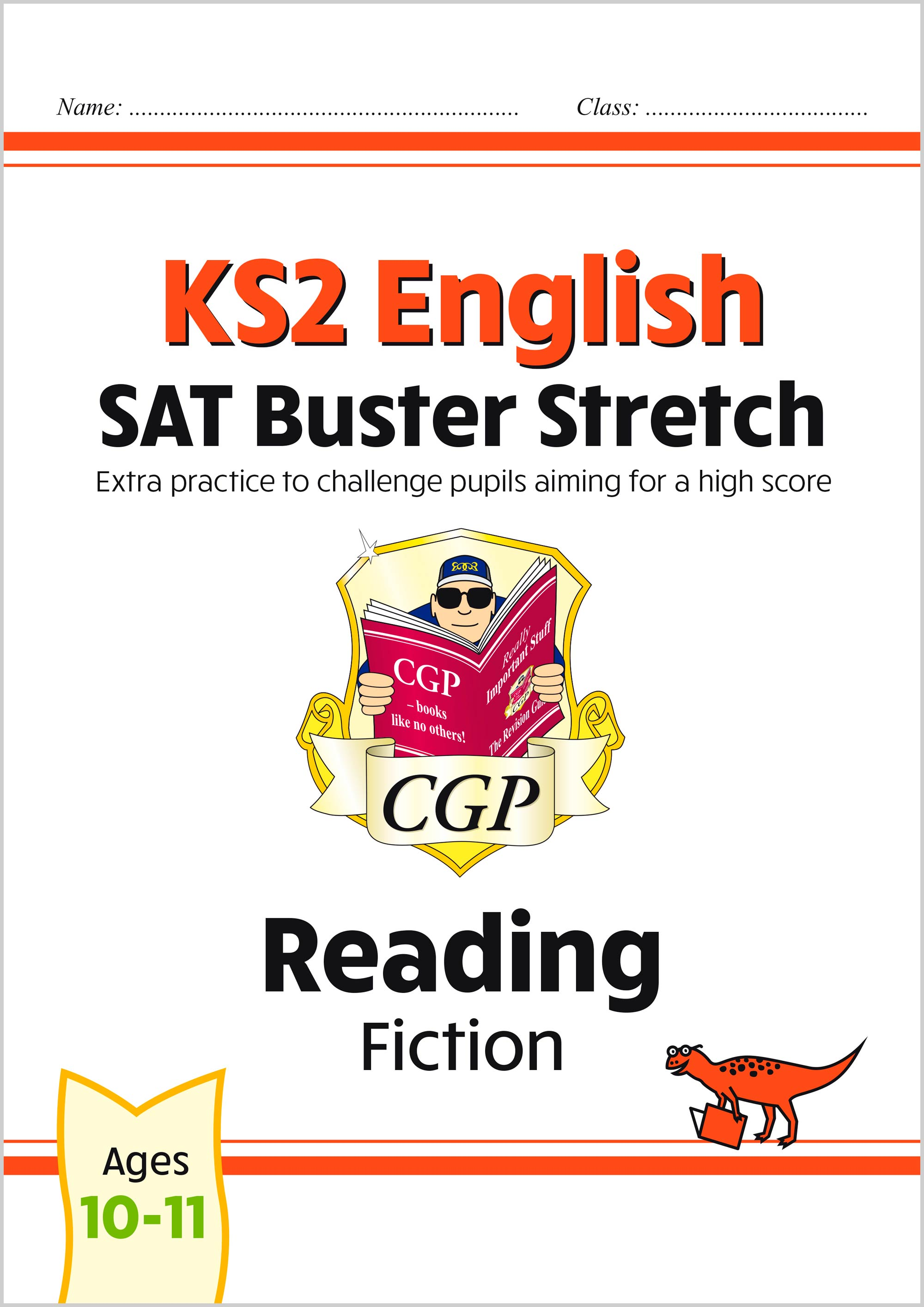 E6HRF22 - New KS2 English Reading SAT Buster Stretch: Fiction (for the 2021 tests)