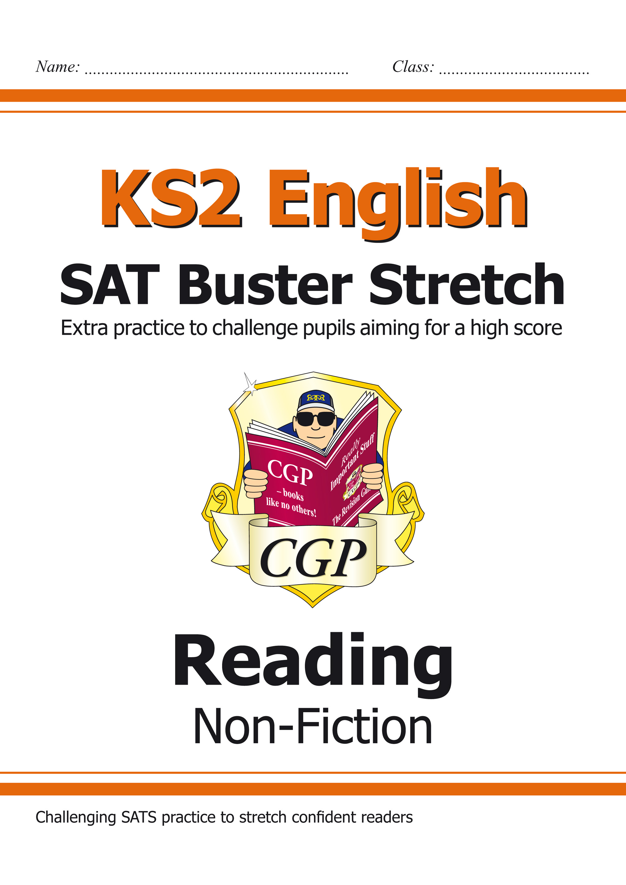 E6HRN21 - KS2 English Reading SAT Buster Stretch: Non-Fiction (for the 2019 tests)
