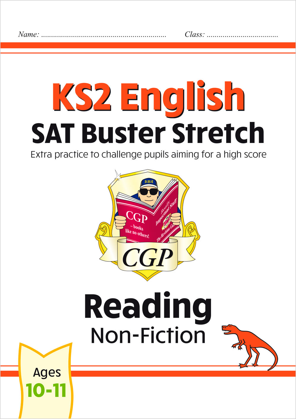 E6HRN22 - New KS2 English Reading SAT Buster Stretch: Non-Fiction (for the 2021 tests)