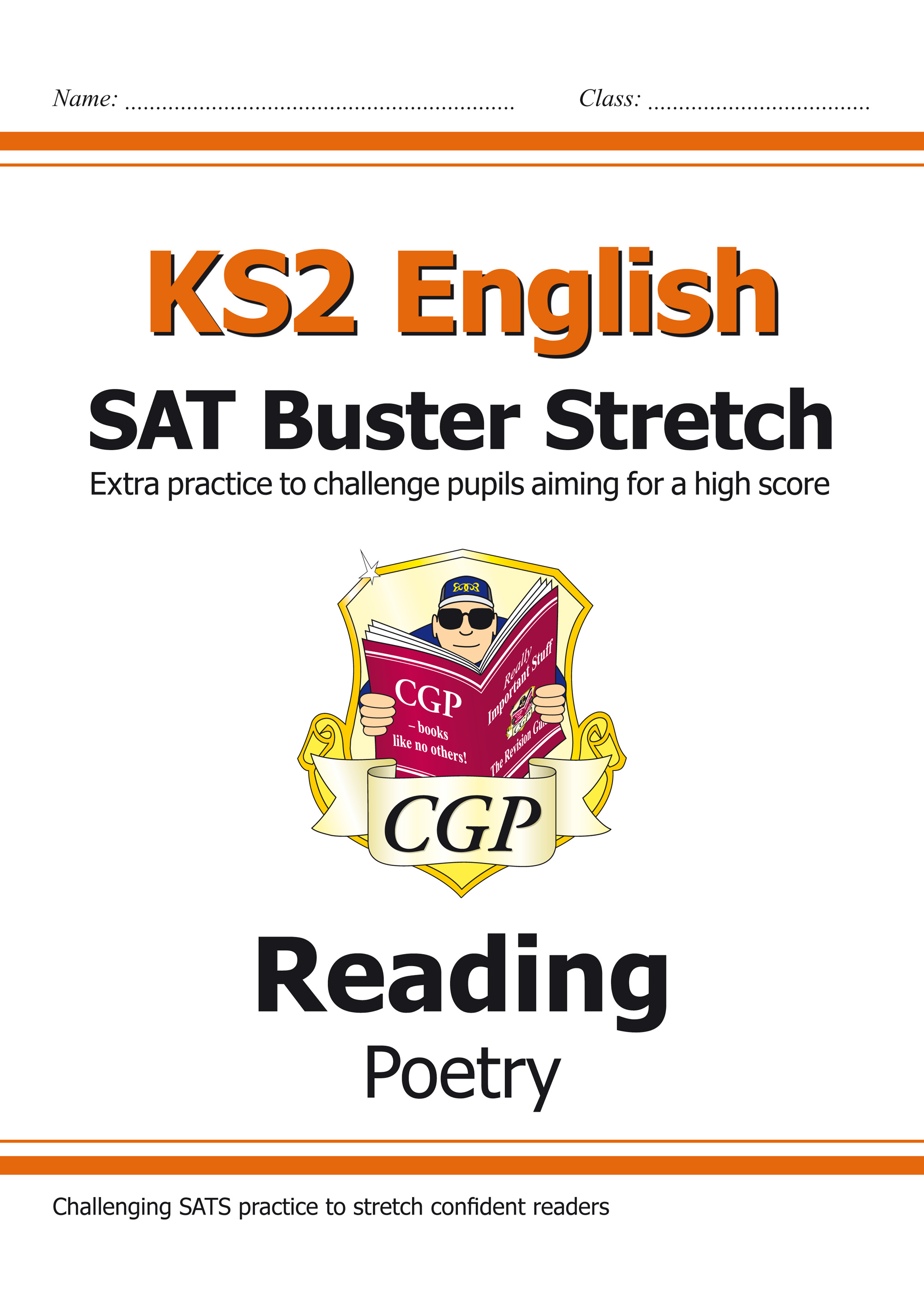 E6HRP21 - KS2 English Reading SAT Buster Stretch: Poetry (for the 2019 tests)