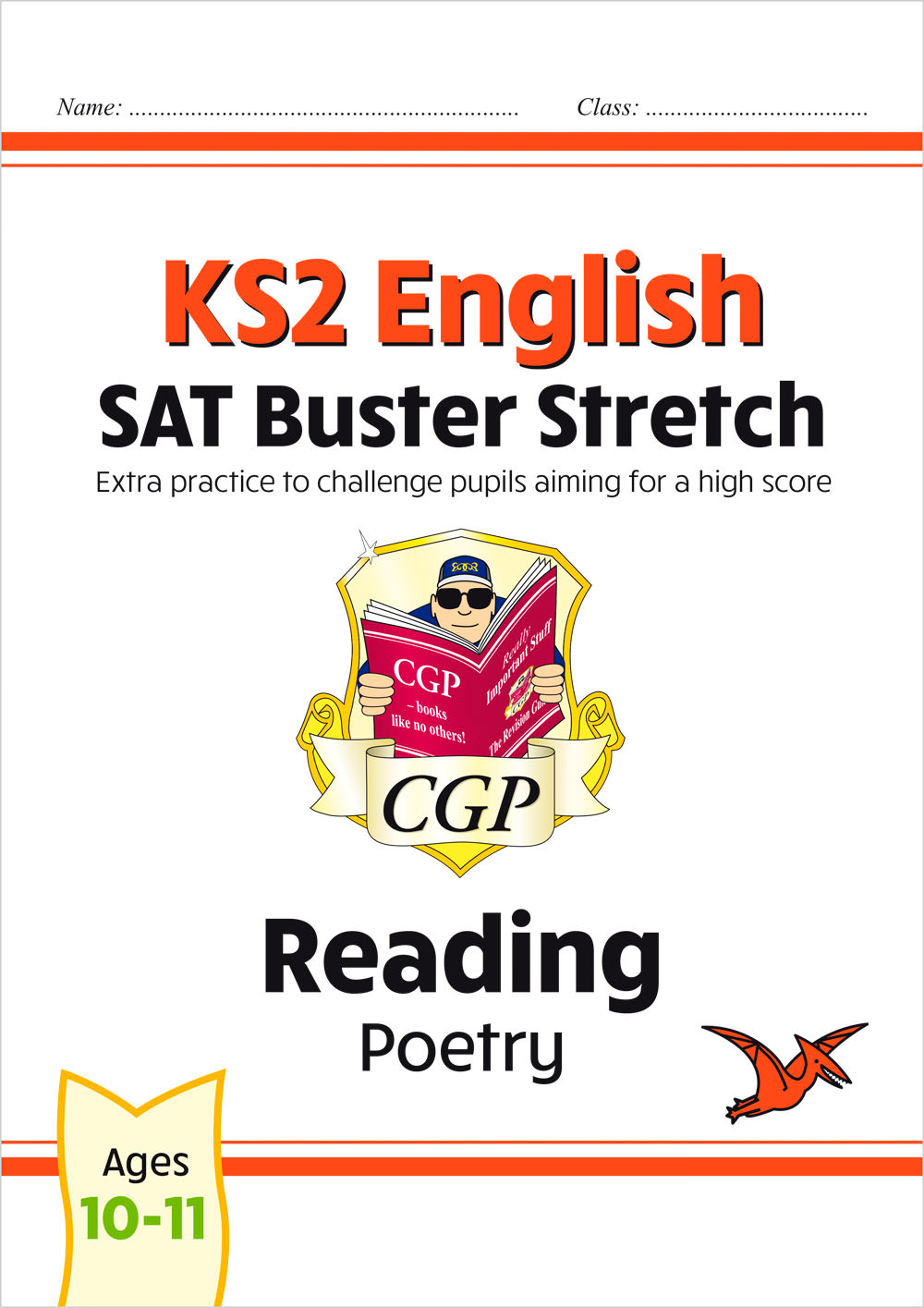 E6HRP22 - New KS2 English Reading SAT Buster Stretch: Poetry (for the 2021 tests)