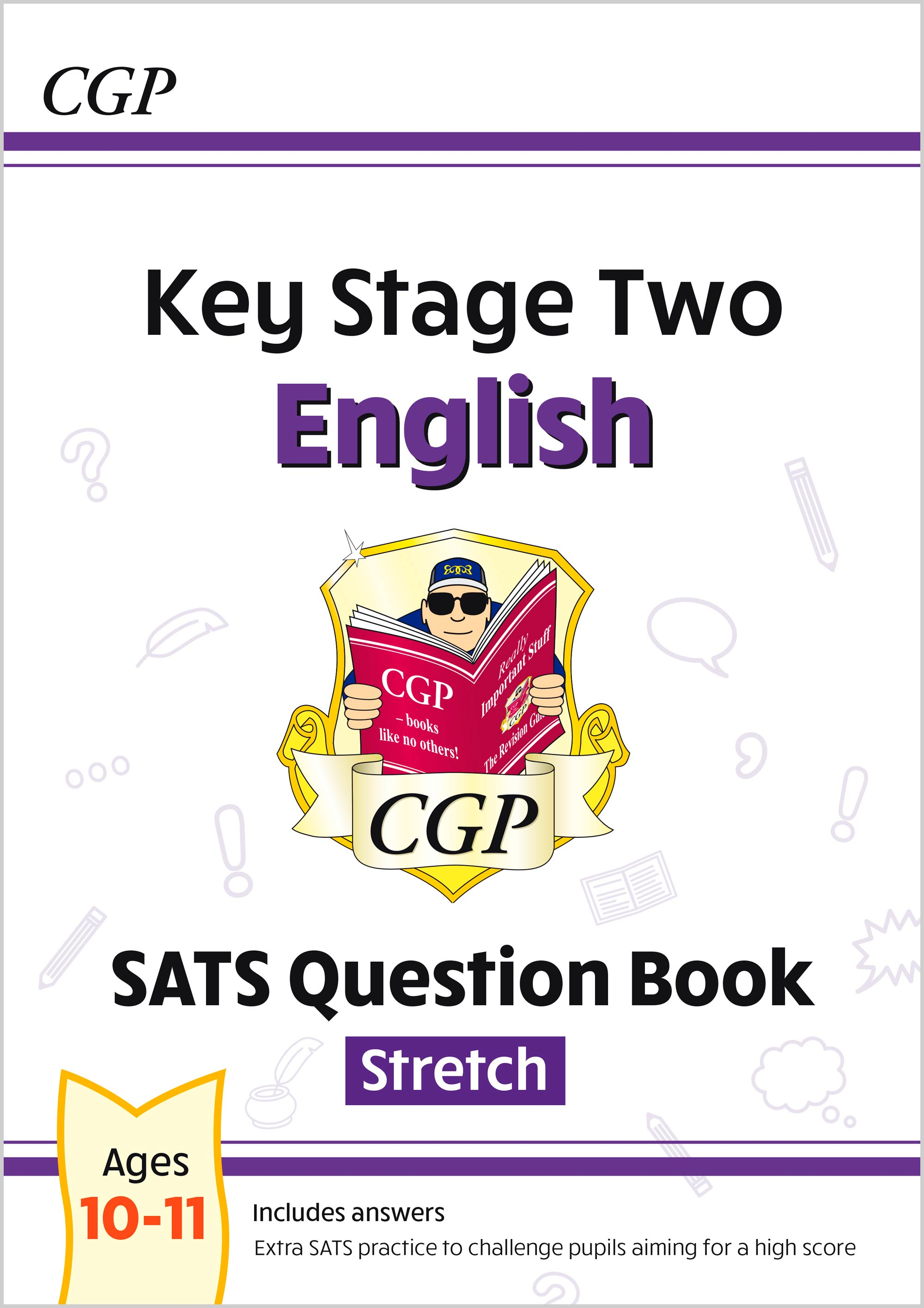 E6HW23 - New KS2 English SATS Question Book: Stretch - Ages 10-11 (for the 2021 tests)