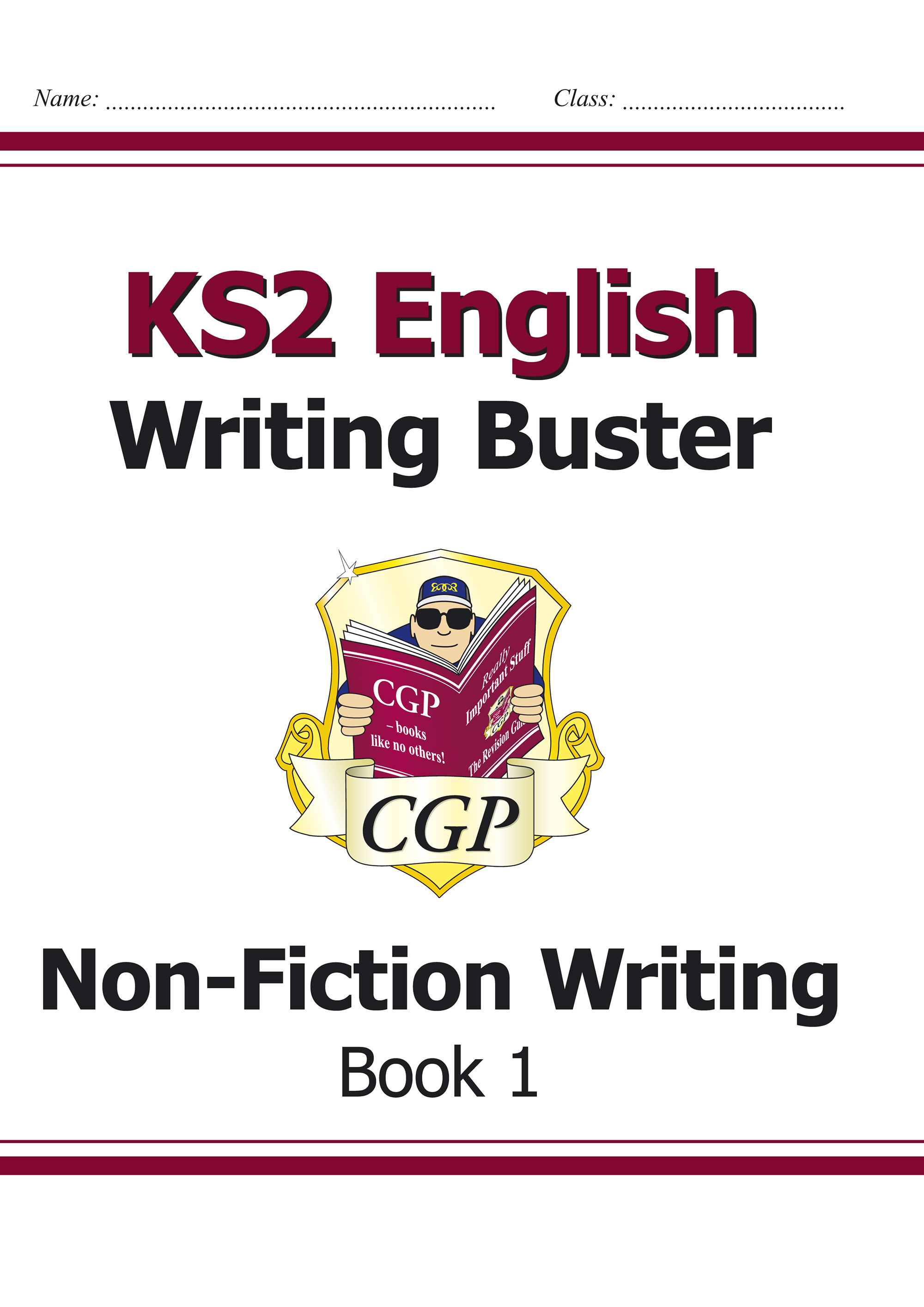 E6N123 - KS2 English Writing Buster - Non-Fiction Writing - Book 1