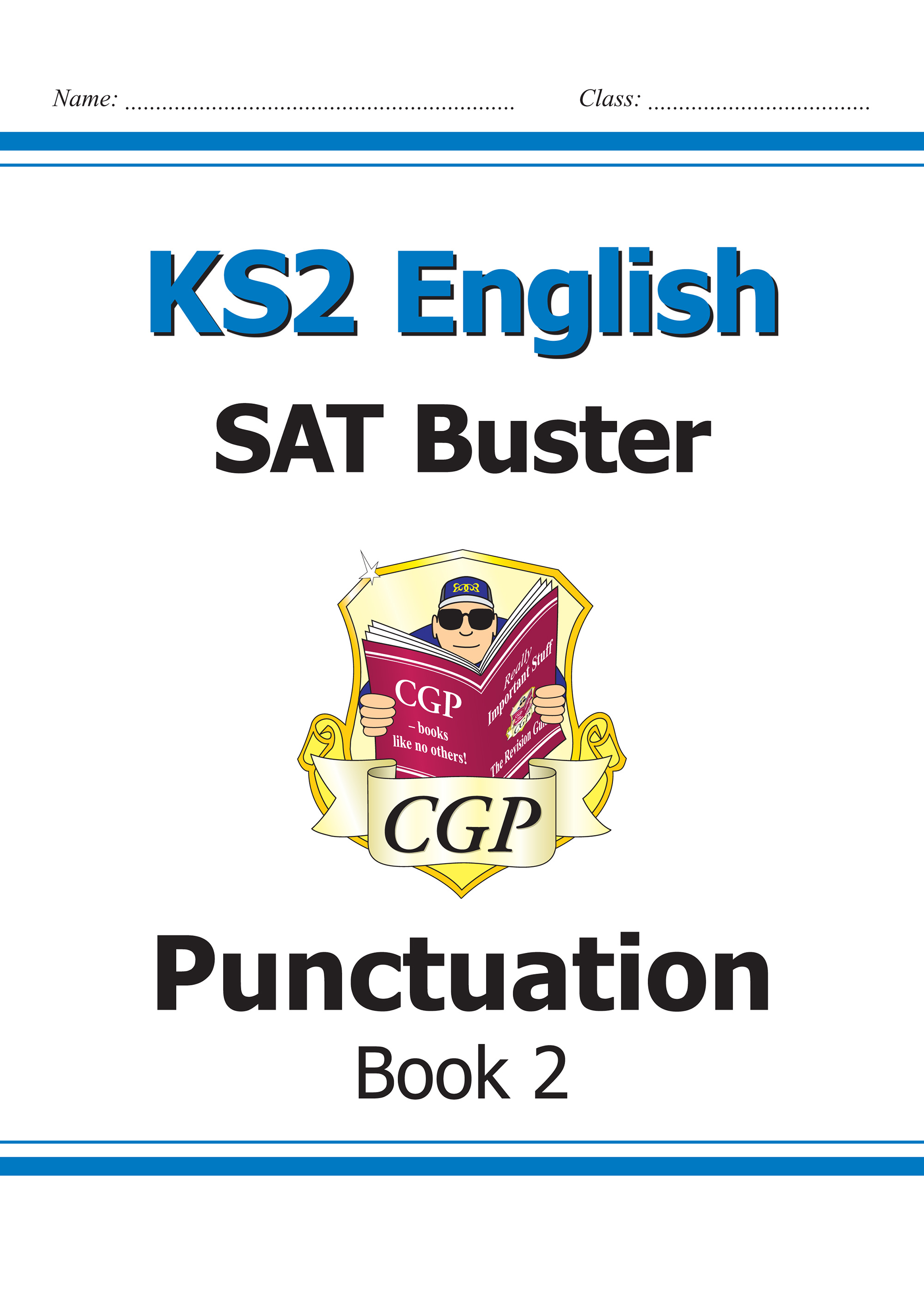 E6P222 - KS2 English SAT Buster - Punctuation Book 2 (for the 2019 tests)