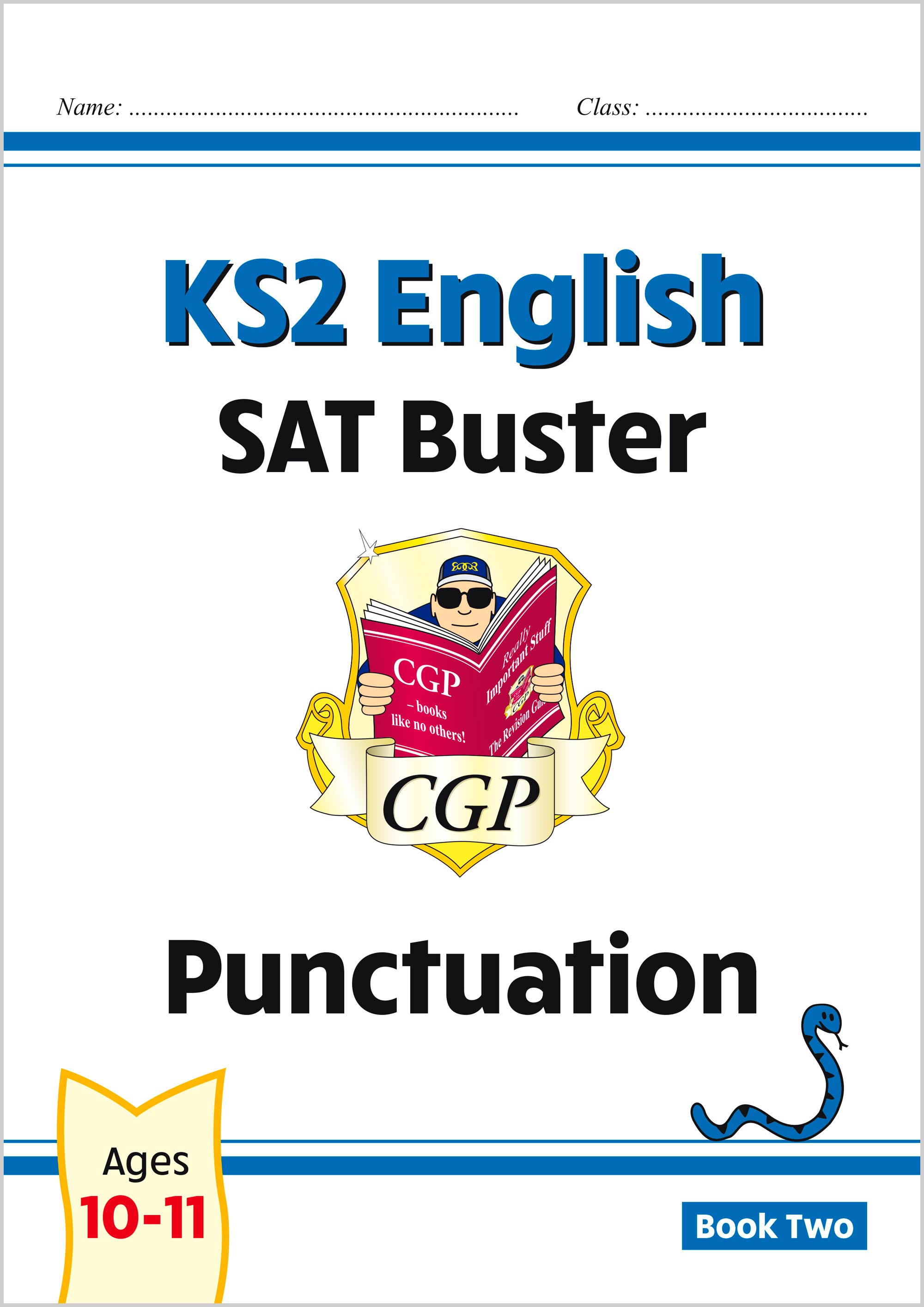 E6P223 - New KS2 English SAT Buster: Punctuation - Book 2 (for the 2020 tests)