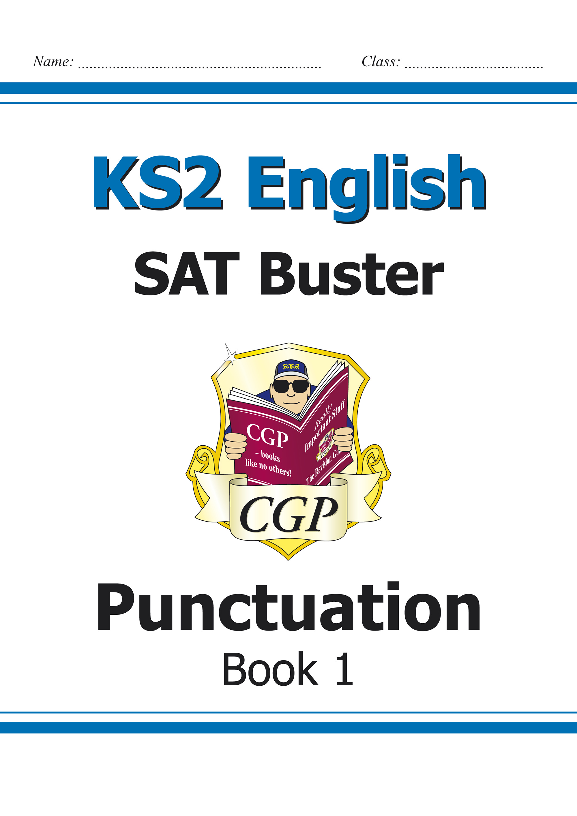 E6P23 - KS2 English SAT Buster: Punctuation Book 1 (for the 2019 tests)