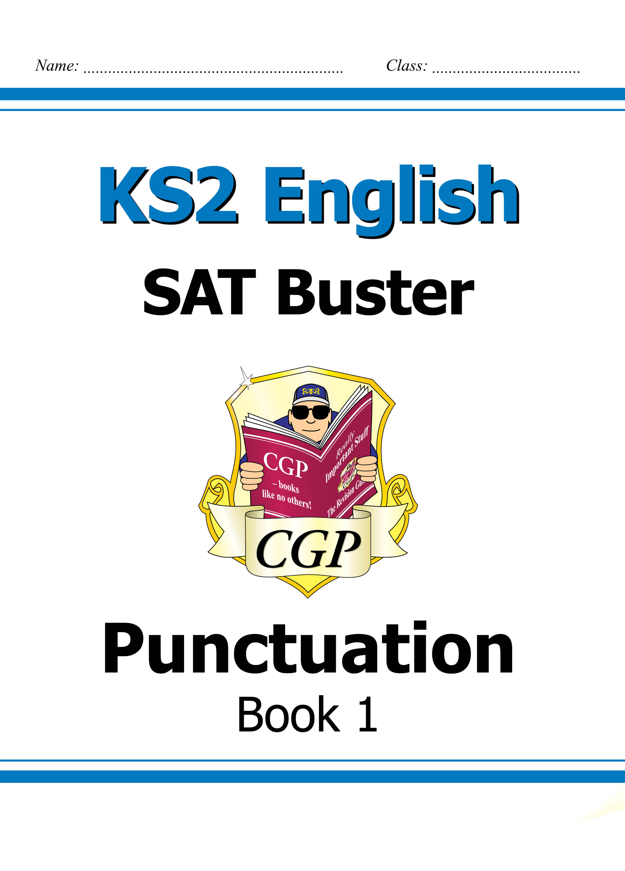 E6P23DK - KS2 English SAT Buster: Punctuation Book 1 (for tests in 2018 and beyond)