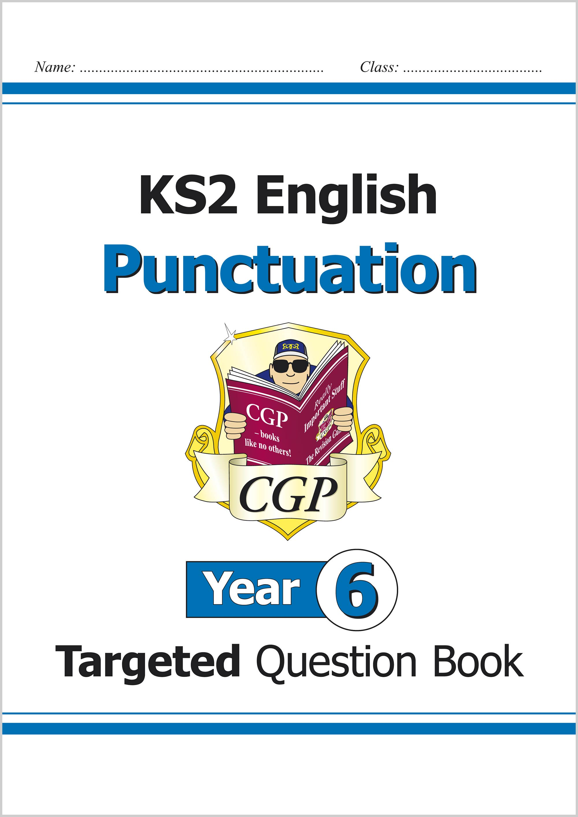 E6PW21 - KS2 English Targeted Question Book: Punctuation - Year 6