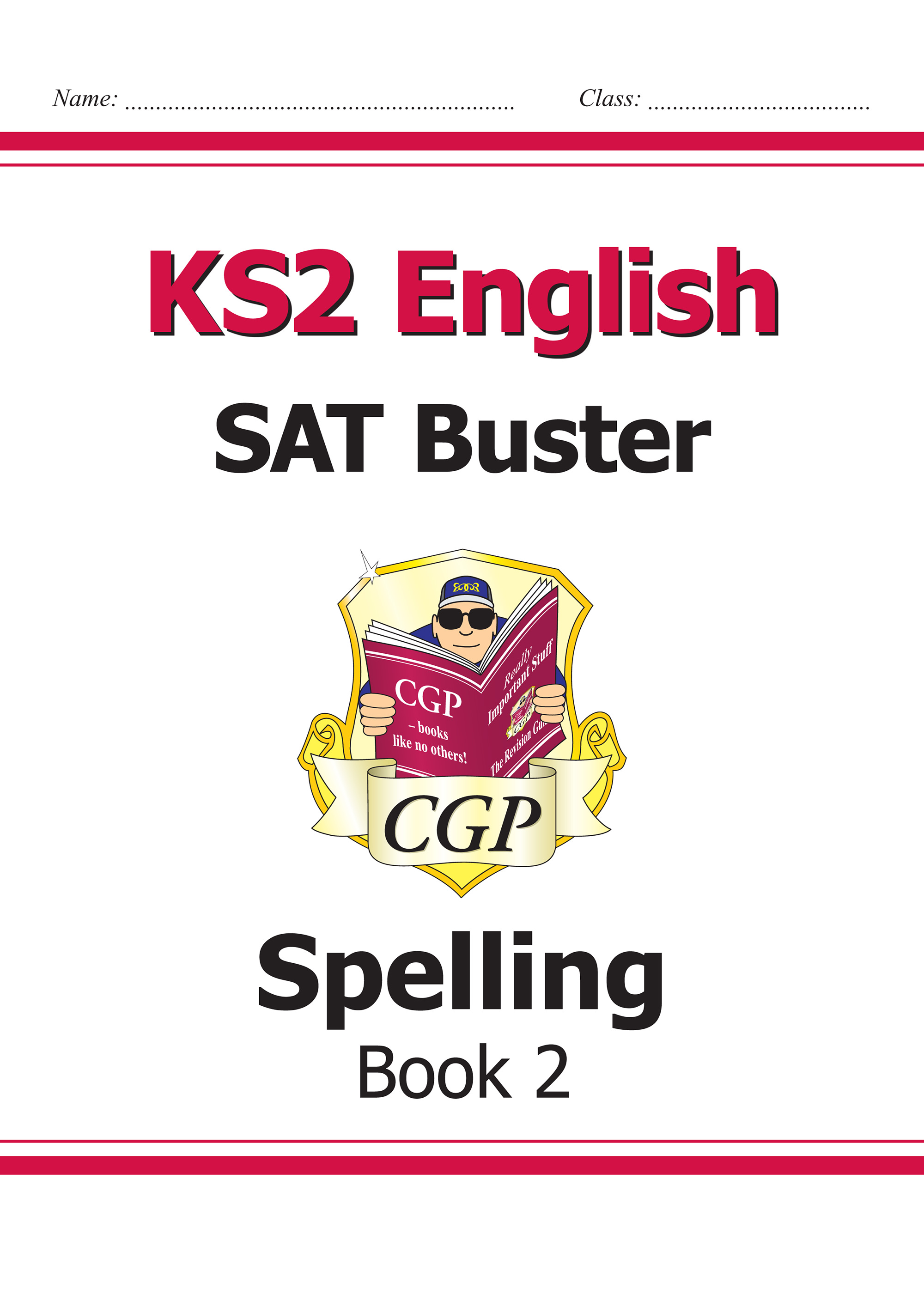 E6S222 - KS2 English SAT Buster - Spelling Book 2 (for the 2020 tests)