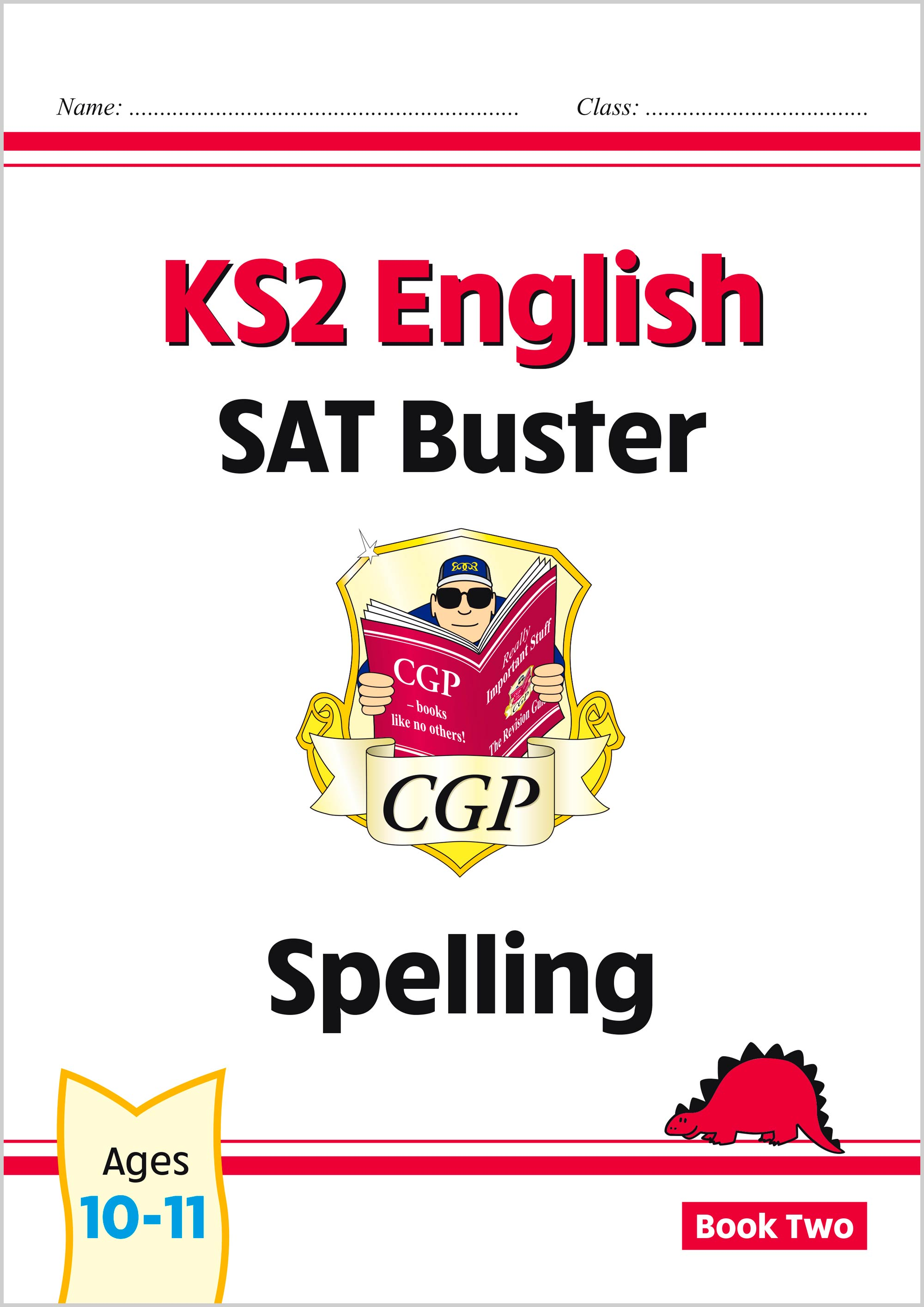E6S223 - New KS2 English SAT Buster: Spelling - Book 2 (for the 2021 tests)