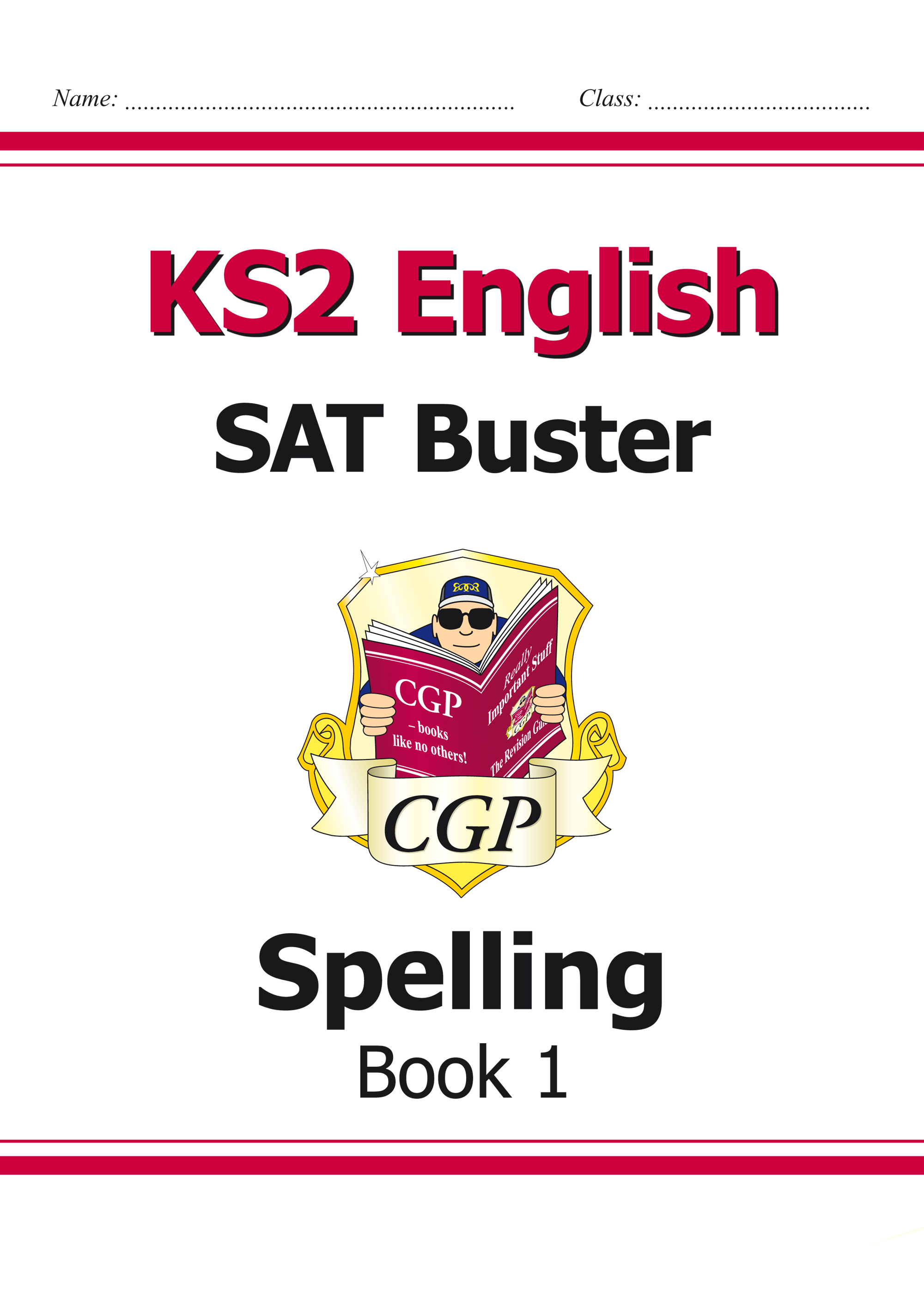 E6S23 - KS2 English SAT Buster: Spelling Book 1 (for the 2019 tests)