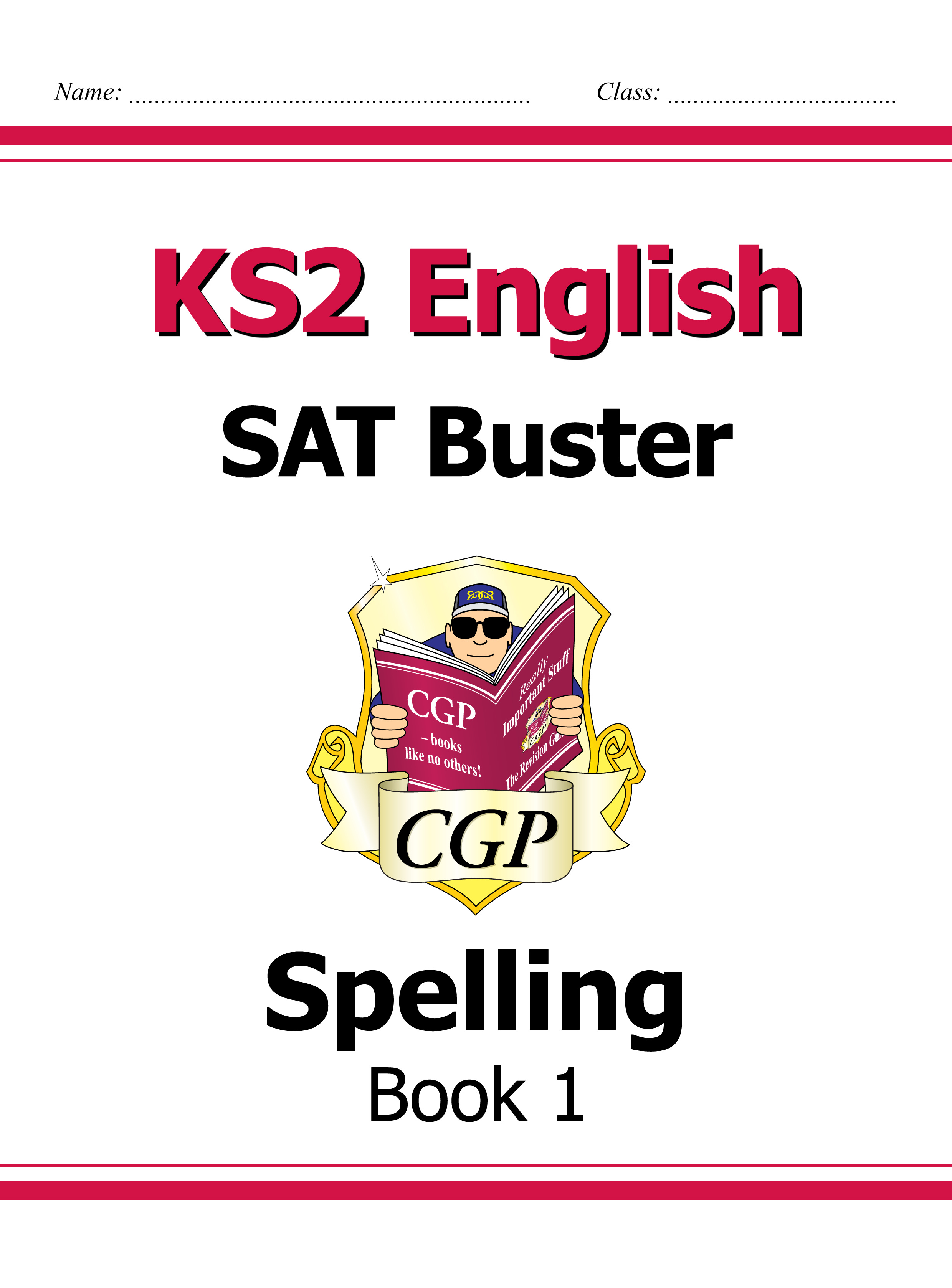 E6S23DK - KS2 English SAT Buster: Spelling Book 1 (for tests in 2018 and beyond)