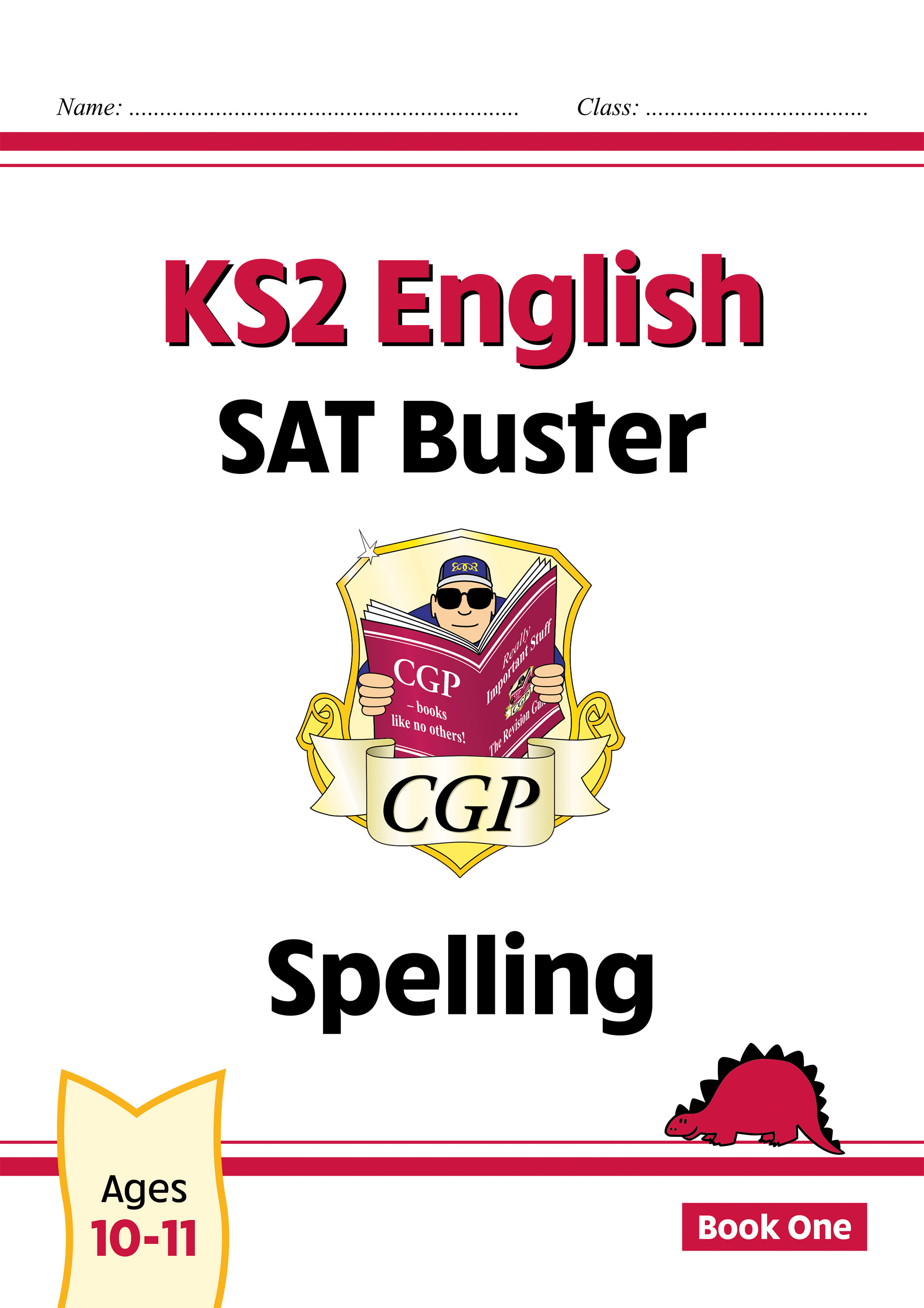 E6S24DK - New KS2 English SAT Buster: Spelling - Book 1 (for the 2021 tests)