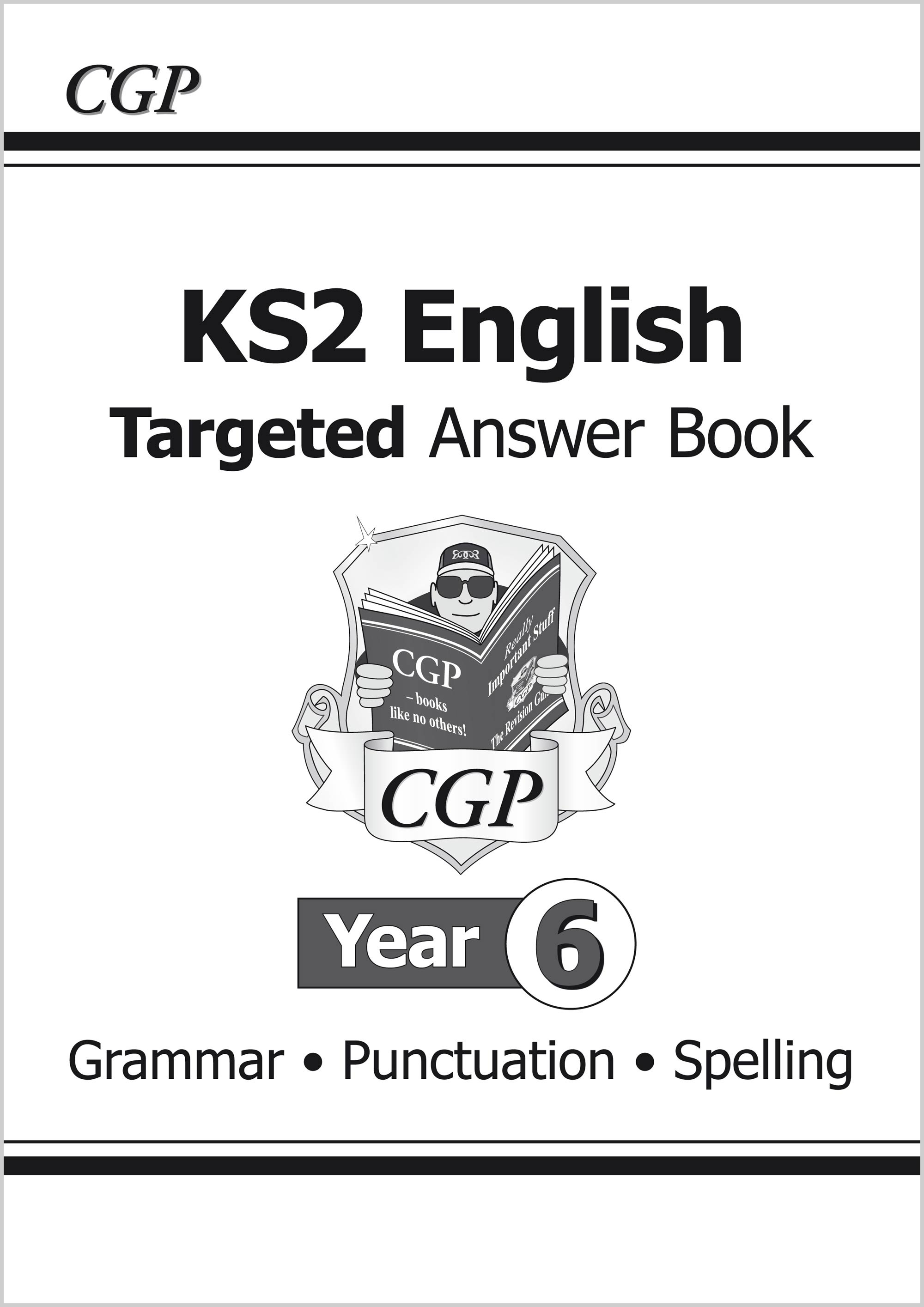 E6SA21 - KS2 English Answers for Targeted Question Books: Grammar, Punctuation and Spelling - Year 6