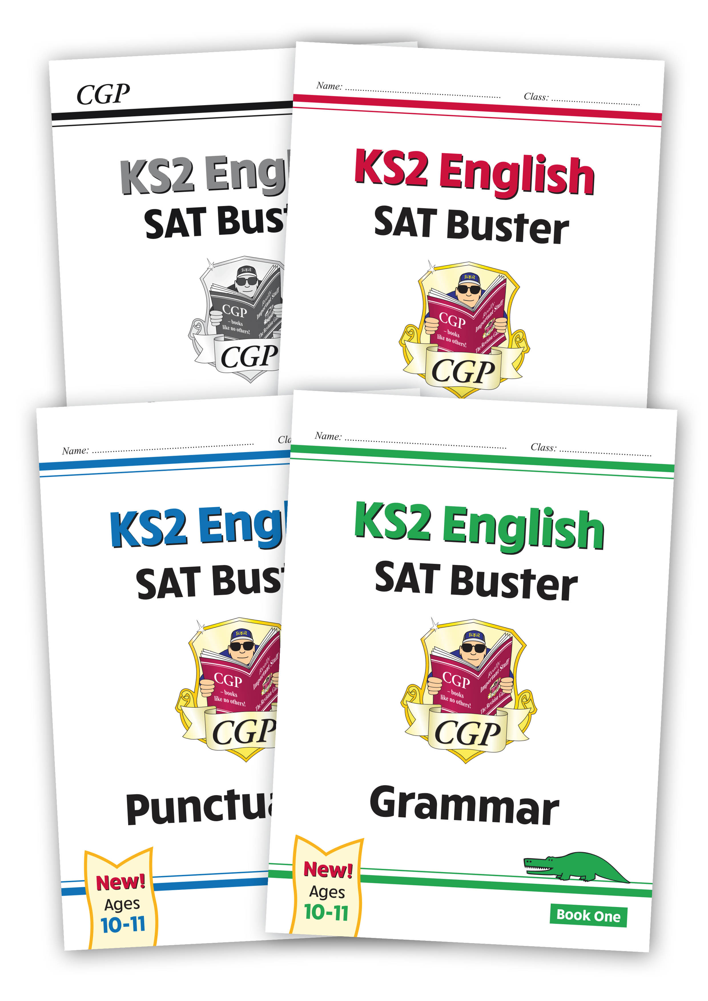 E6SBB24 - New KS2 English SPaG SAT Buster Book 1 Bundle - includes answers