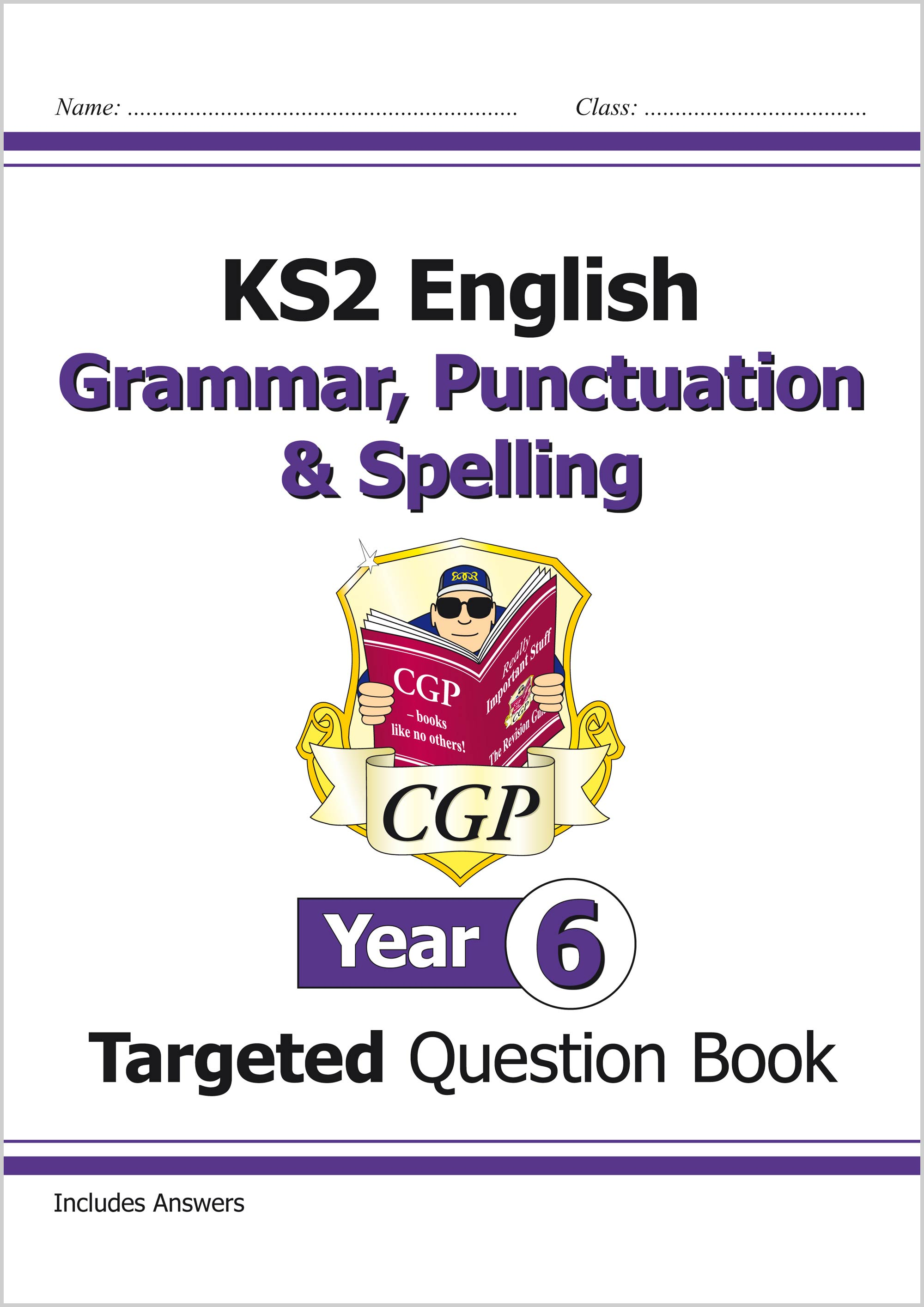 E6W22 - KS2 English Targeted Question Book: Grammar, Punctuation & Spelling - Year 6