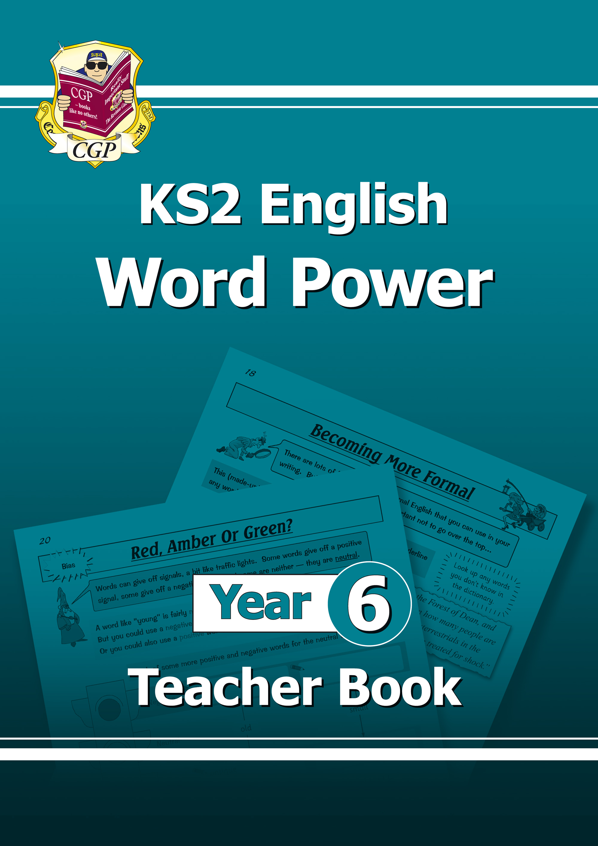 E6WPT21 - KS2 English Word Power: Teacher Book - Year 6