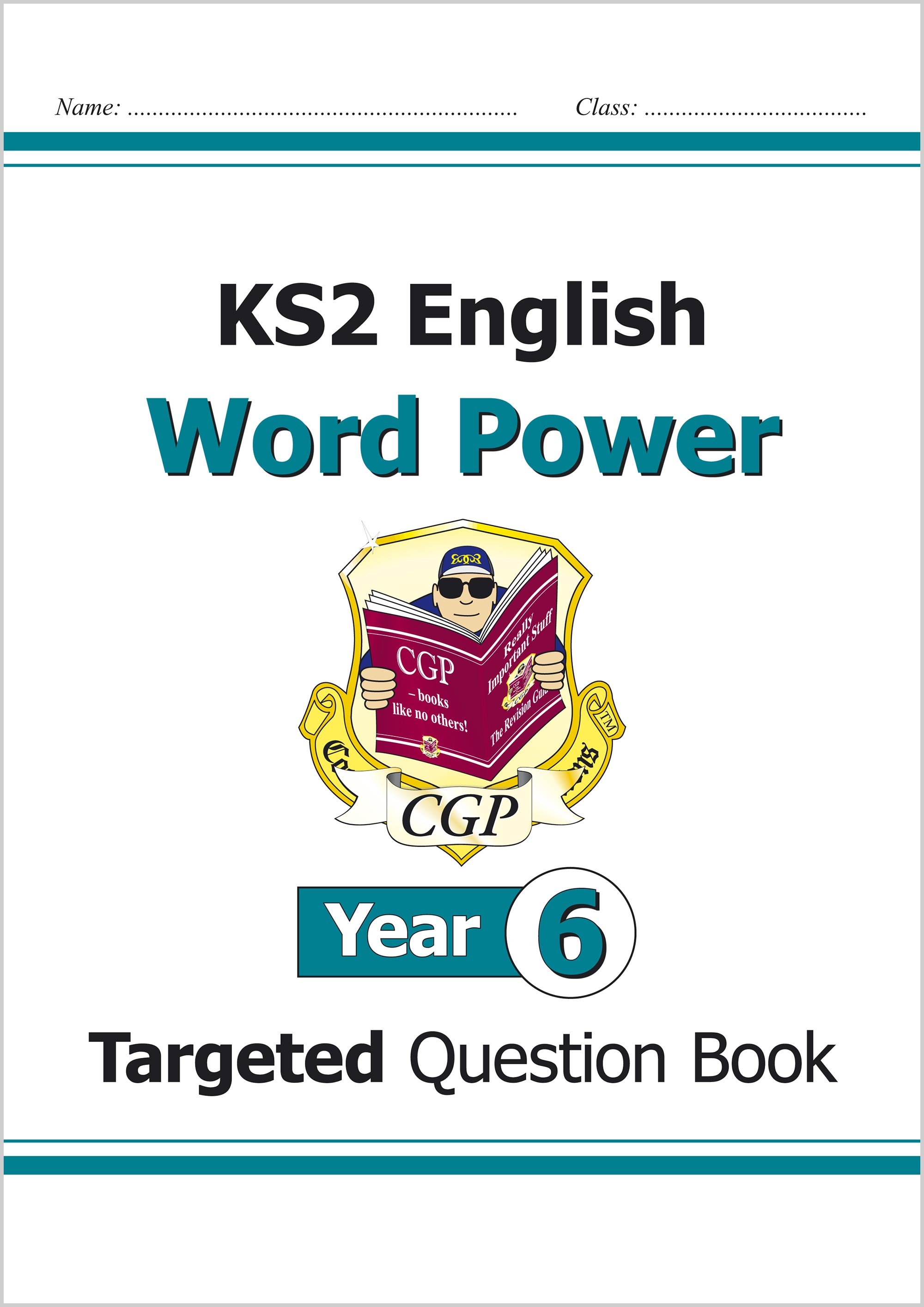 E6WPW21 - KS2 English Targeted Question Book: Word Power - Year 6