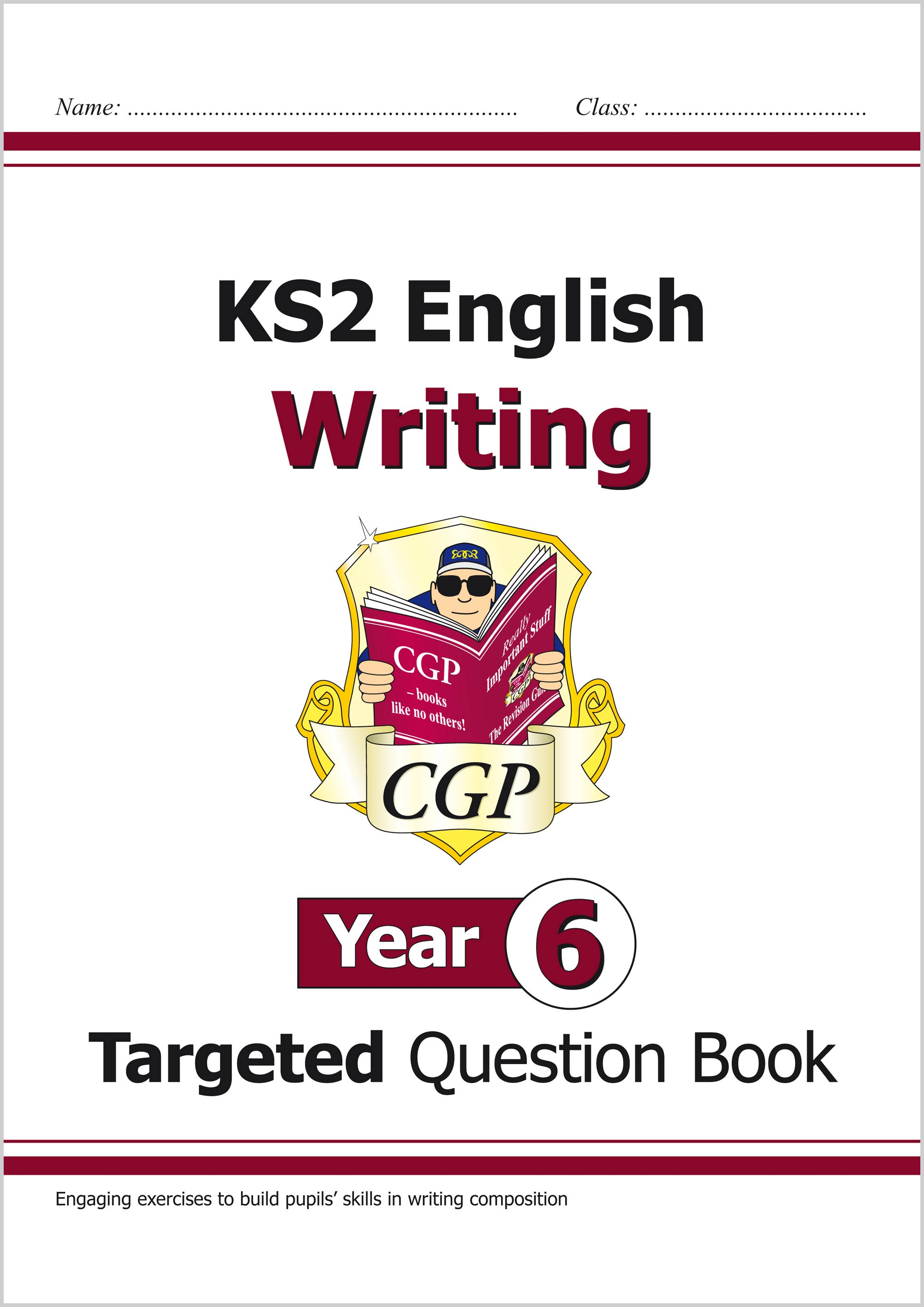 E6WW21 - New KS2 English Writing Targeted Question Book - Year 6