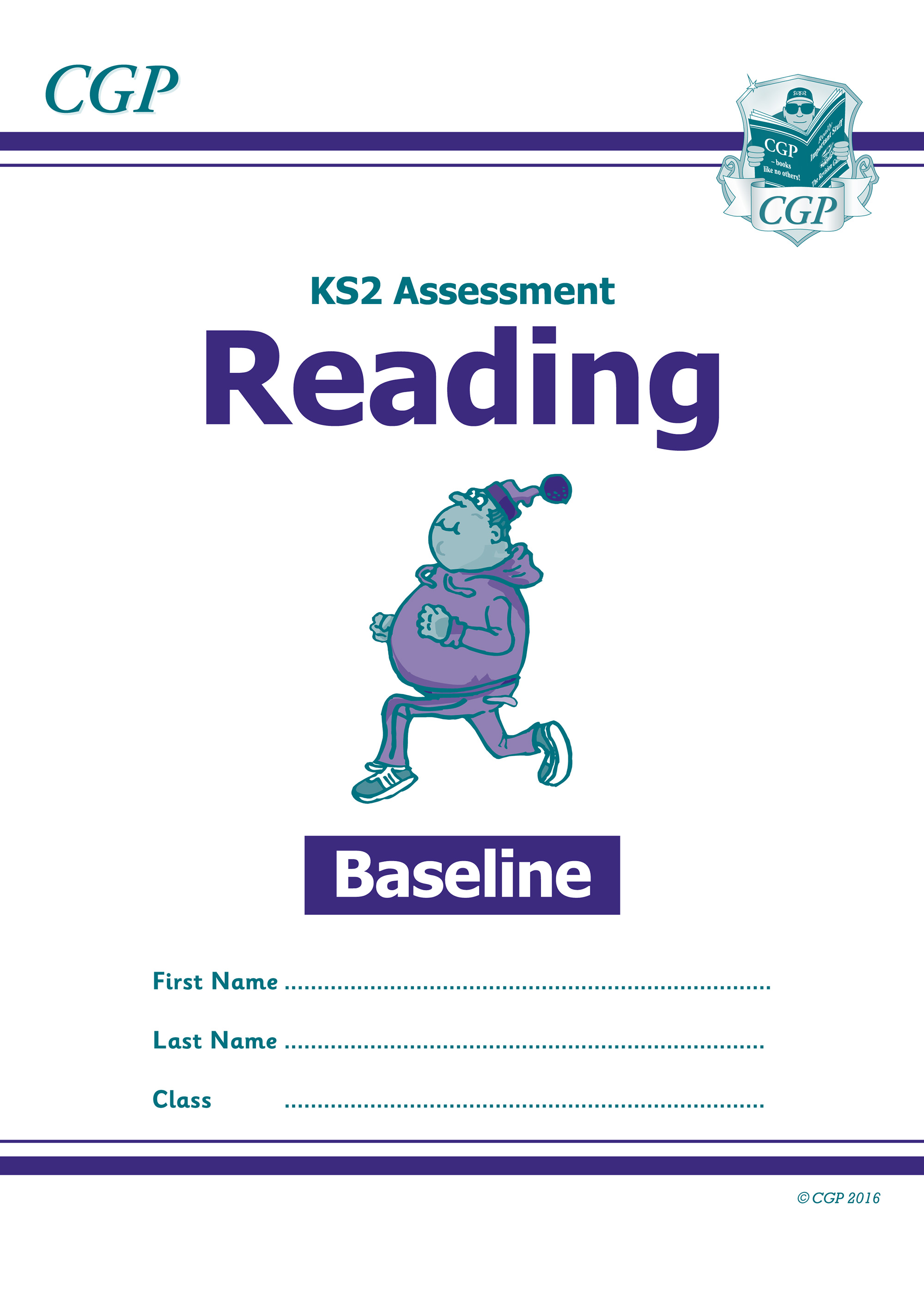 EBRP21 - KS2 Assessment: Reading - Baseline Test
