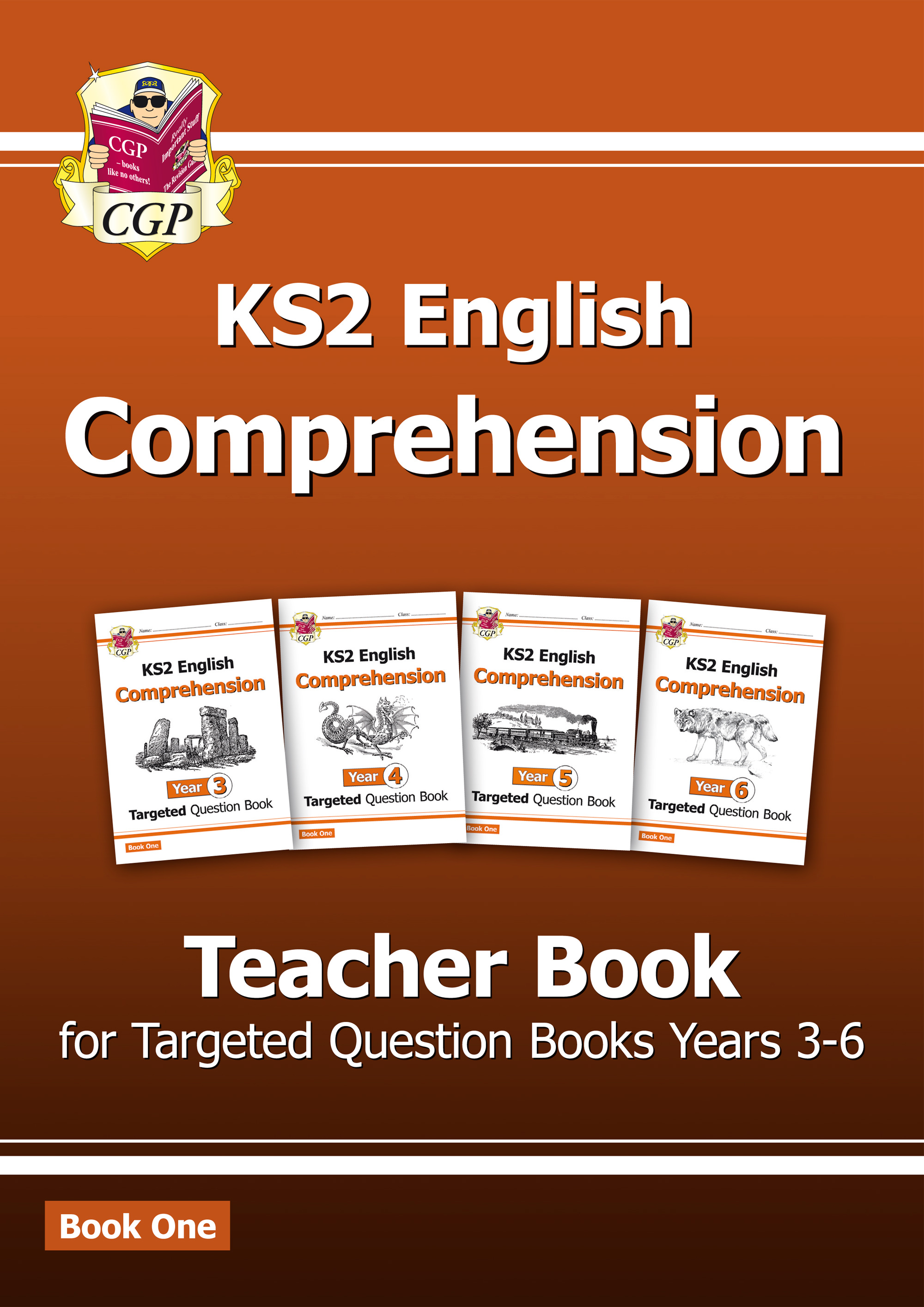ECT21 - New KS2 English Targeted Comprehension: Teacher Book 1, Years 3-6