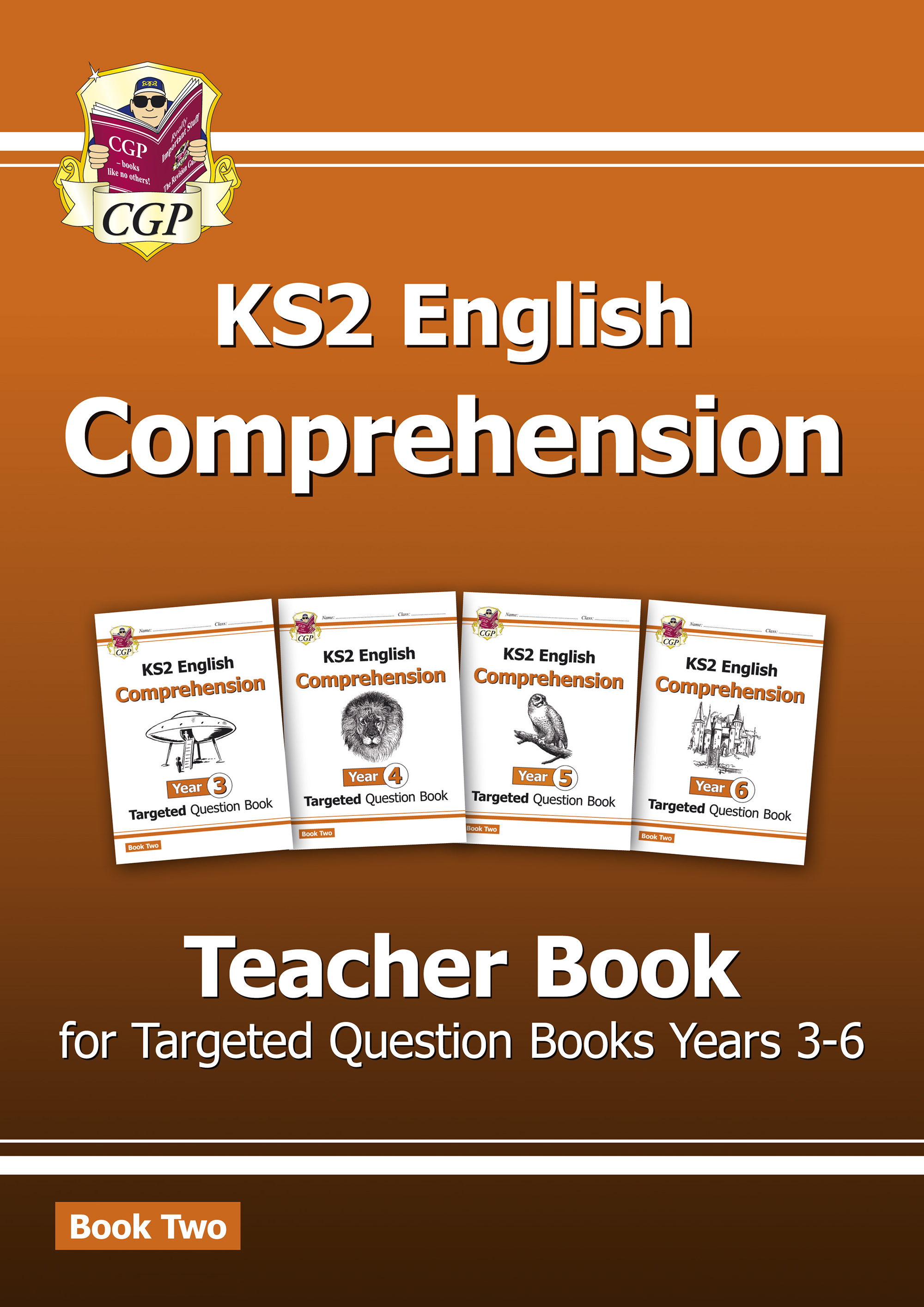 ECT221 - New KS2 English Targeted Comprehension: Teacher Book 2, Years 3-6