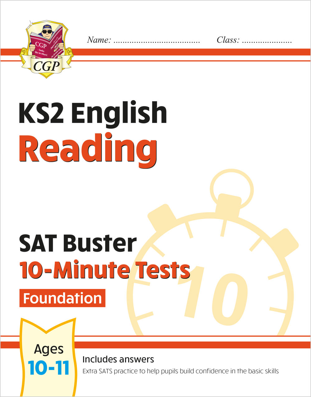 EFXPR21 - New KS2 English SAT Buster 10-Minute Tests: Reading - Foundation (for the 2020 tests)