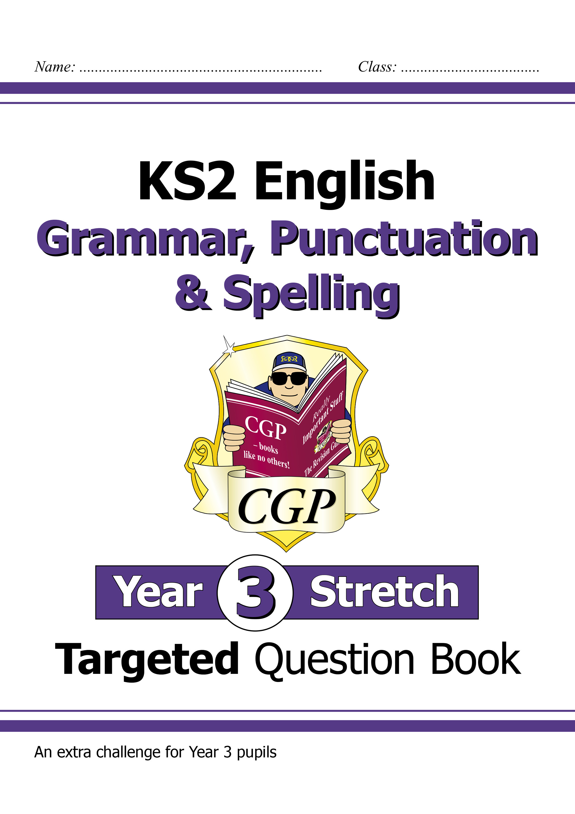 EG3HW21DK - KS2 English Targeted Question Book: Challenging Grammar, Punctuation & Spelling - Year 3