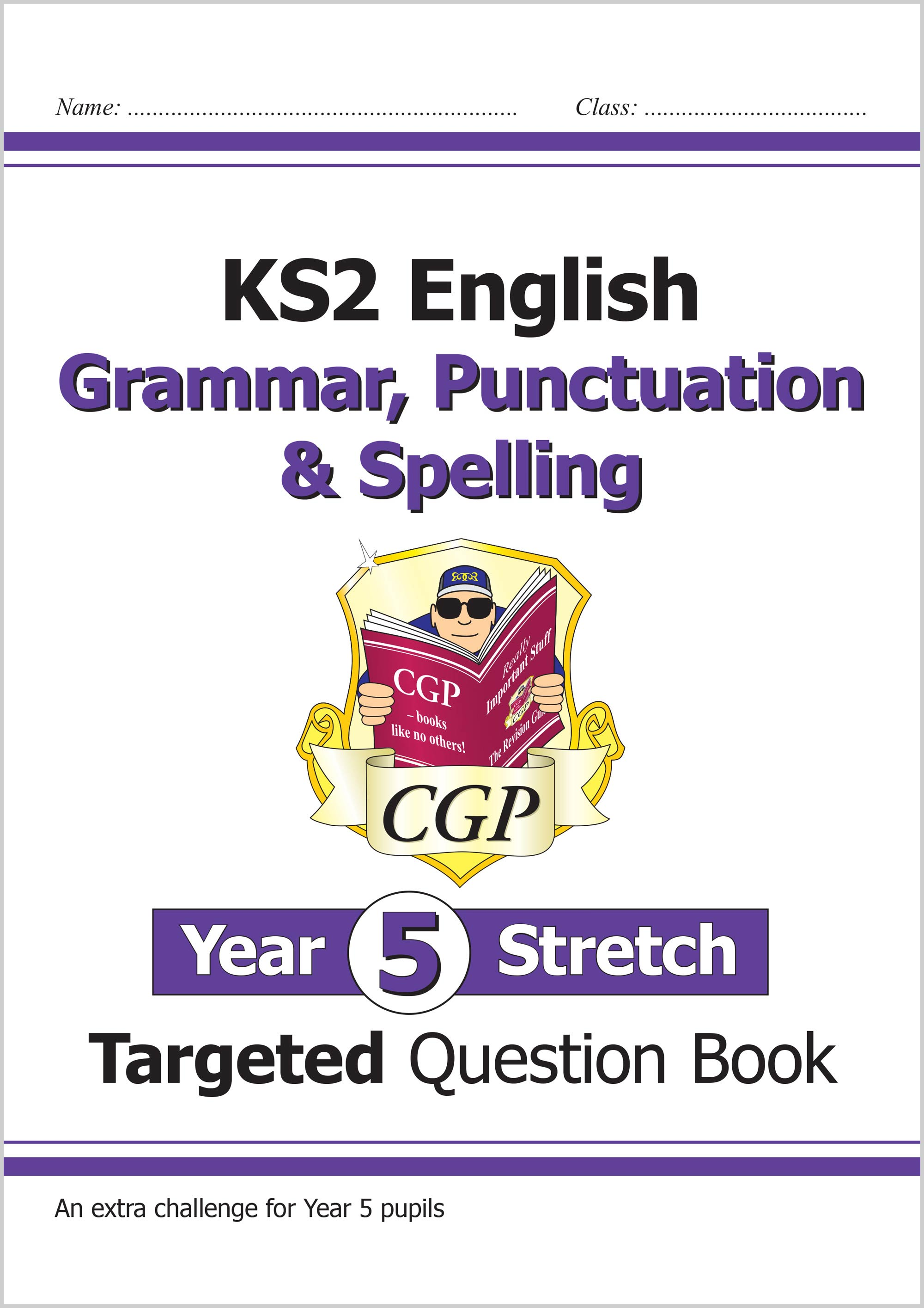 EG5HW21 - New KS2 English Targeted Question Book: Challenging Grammar, Punctuation & Spelling - Year