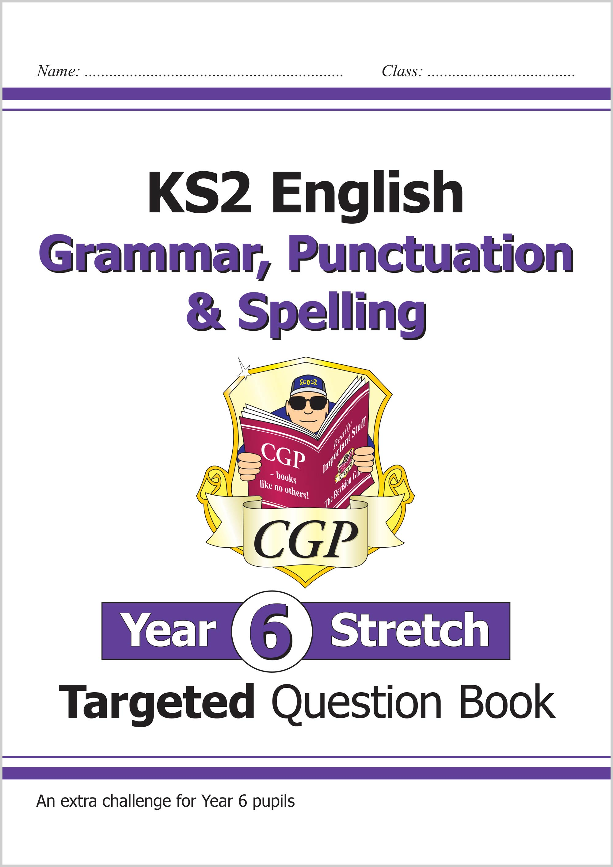 EG6HW21 - KS2 English Targeted Question Book: Challenging Grammar, Punctuation & Spelling - Year 6 S