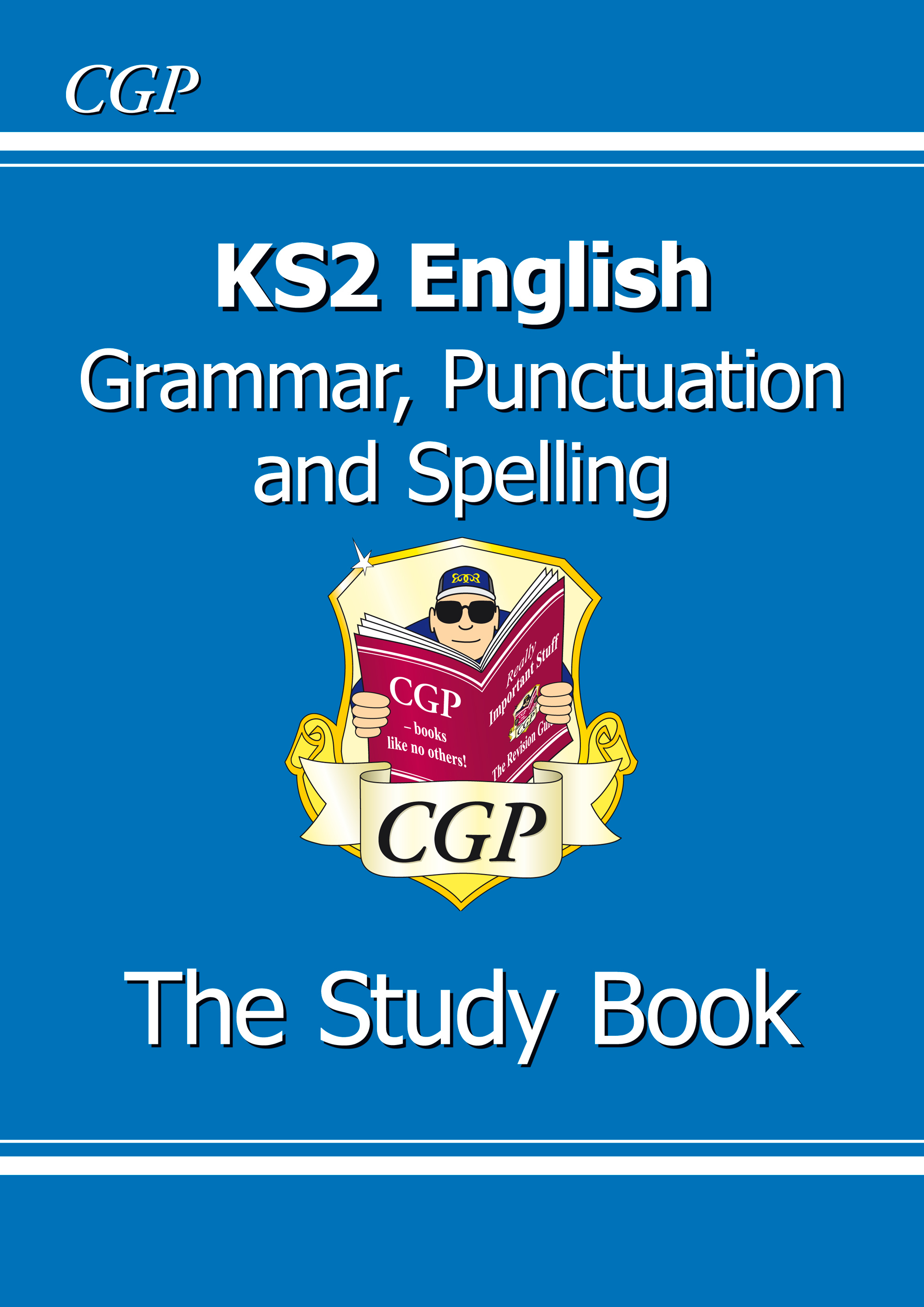 EGR23 - KS2 English: Grammar, Punctuation and Spelling Study Book (for the 2019 tests)
