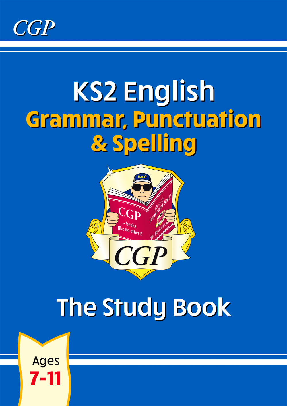 EGR24 - New KS2 English: Grammar, Punctuation and Spelling Study Book - Ages 7-11