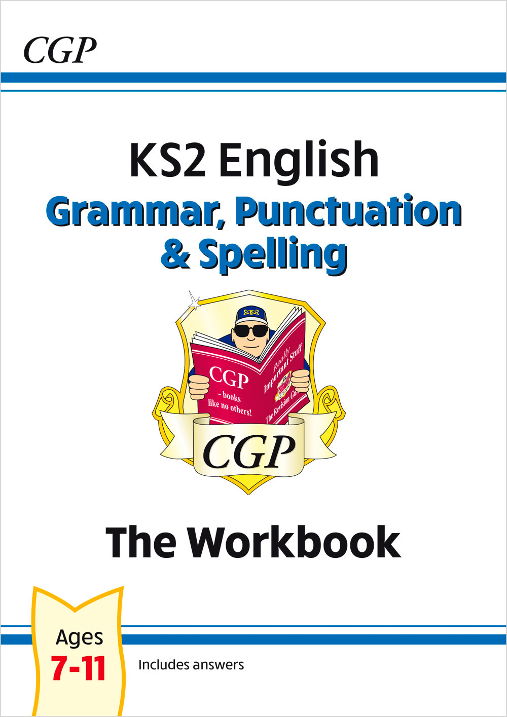 EGW22 - New KS2 English: Grammar, Punctuation and Spelling Workbook - Ages 7-11