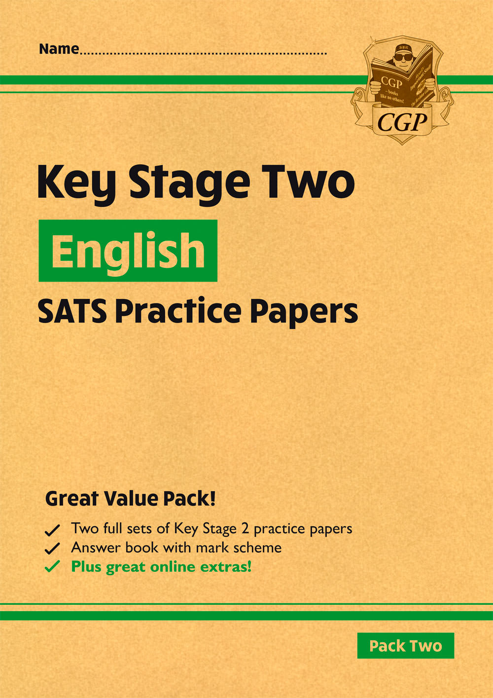 EHGP27 - New KS2 English SATS Practice Papers: Pack 2 (with free Online Extras)