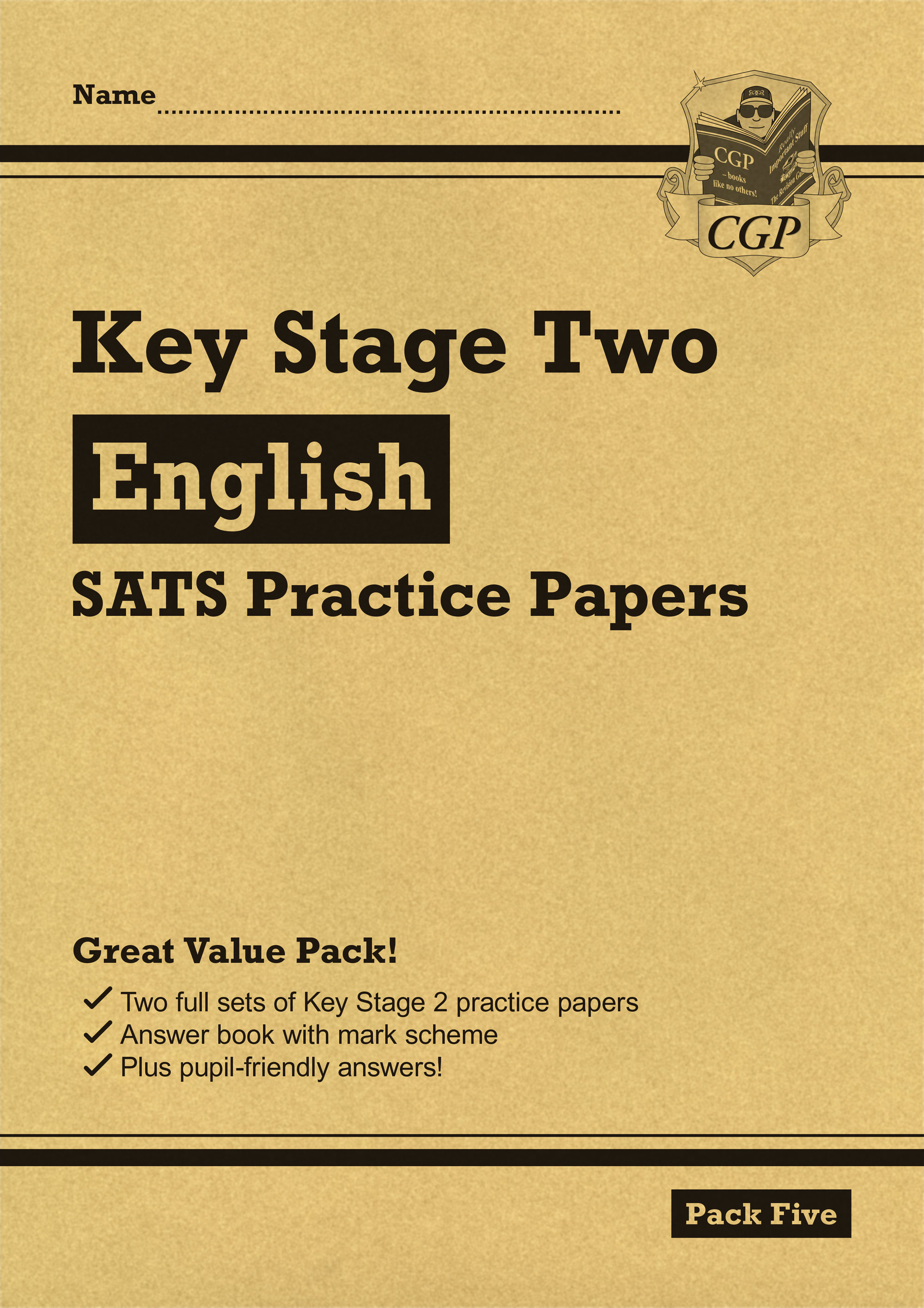EHP26 - New KS2 English SATS Practice Papers: Pack 5 (for the 2019 tests)