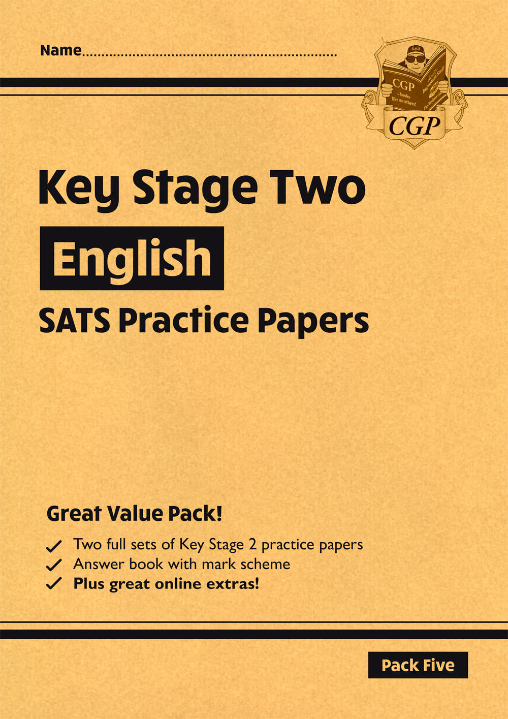 EHP27 - New KS2 English SATS Practice Papers: Pack 5 (with free Online Extras)