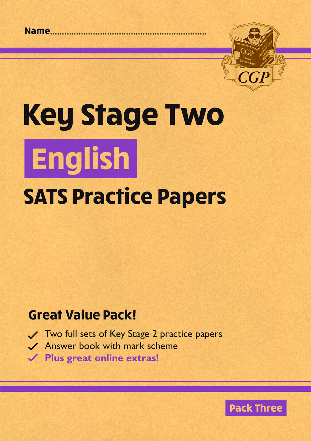 EHPP27 - New KS2 English SATS Practice Papers: Pack 3 (with free Online Extras)