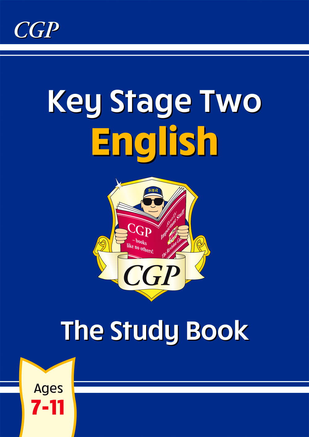EHR26 - New KS2 English Study Book - Ages 7-11