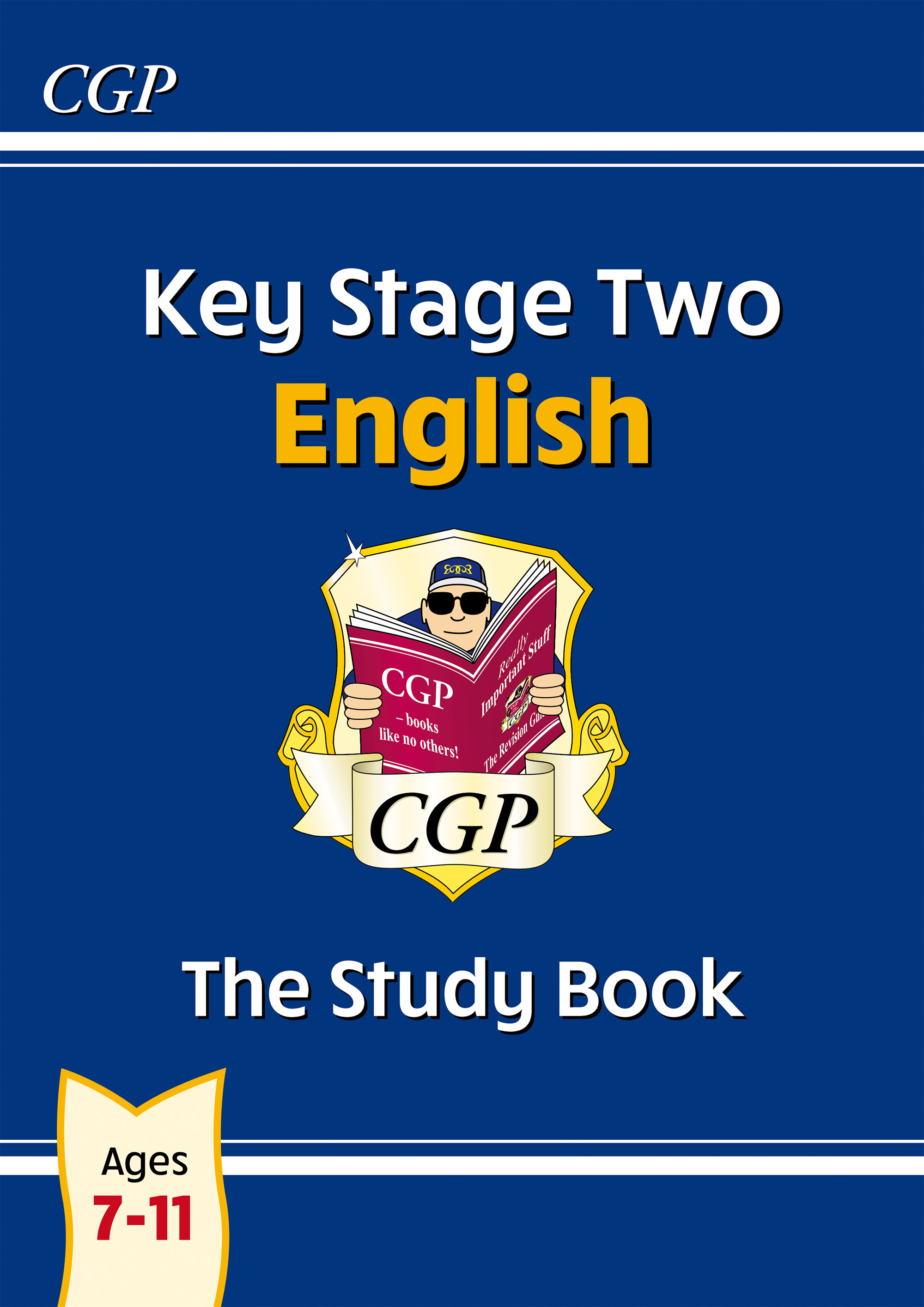 EHR26DK - New KS2 English Study Book - Ages 7-11